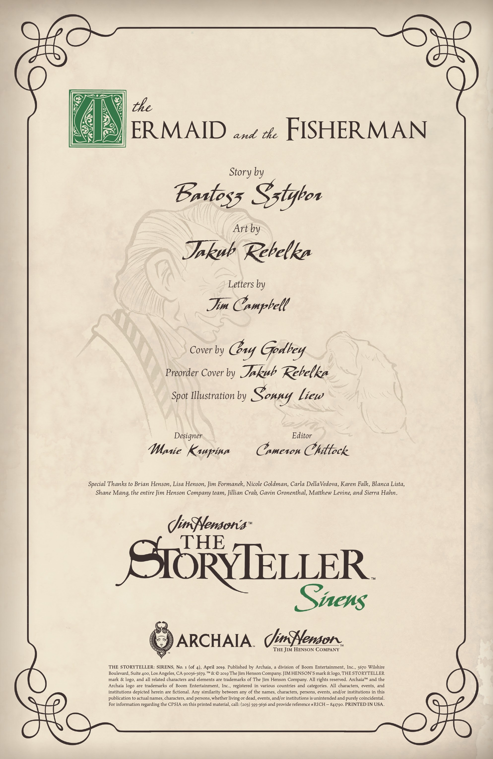 Jim Hensons The Storyteller: Sirens 1 Page 2