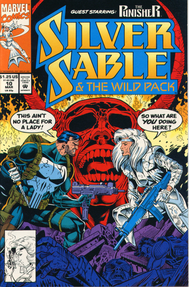 Read online Silver Sable and the Wild Pack comic -  Issue #10 - 1