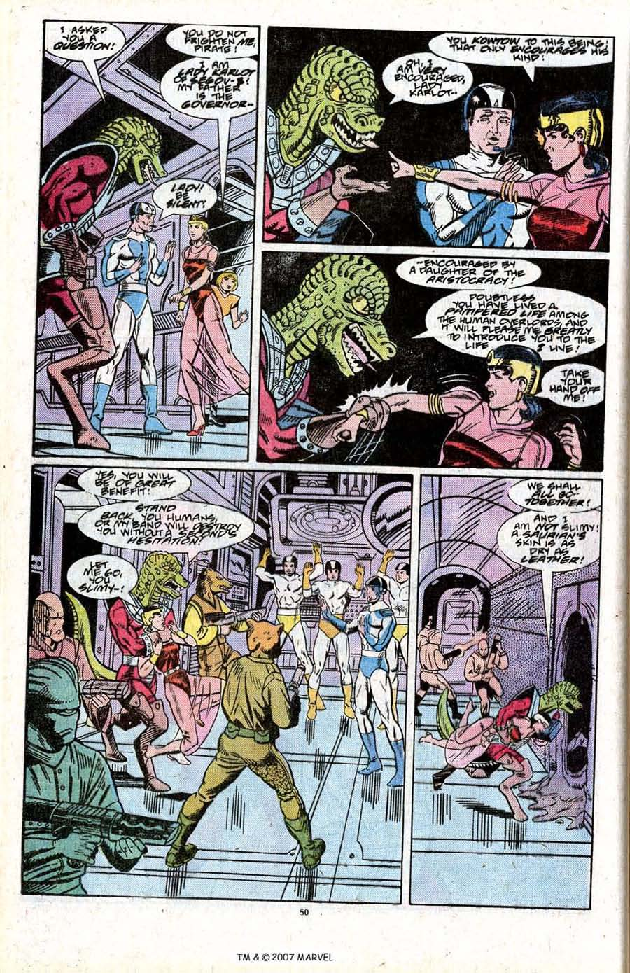 Read online Silver Surfer (1987) comic -  Issue # _Annual 2 - 52