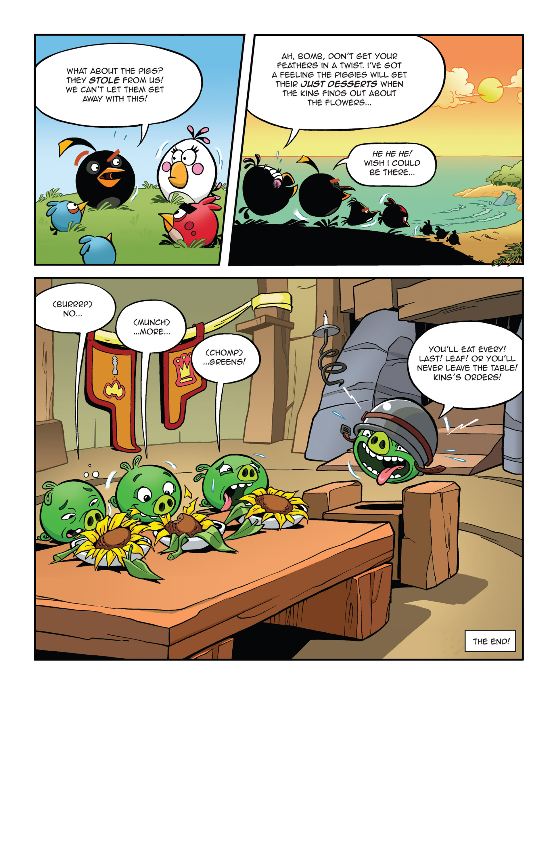 Read online Angry Birds Comics (2014) comic -  Issue #5 - 12