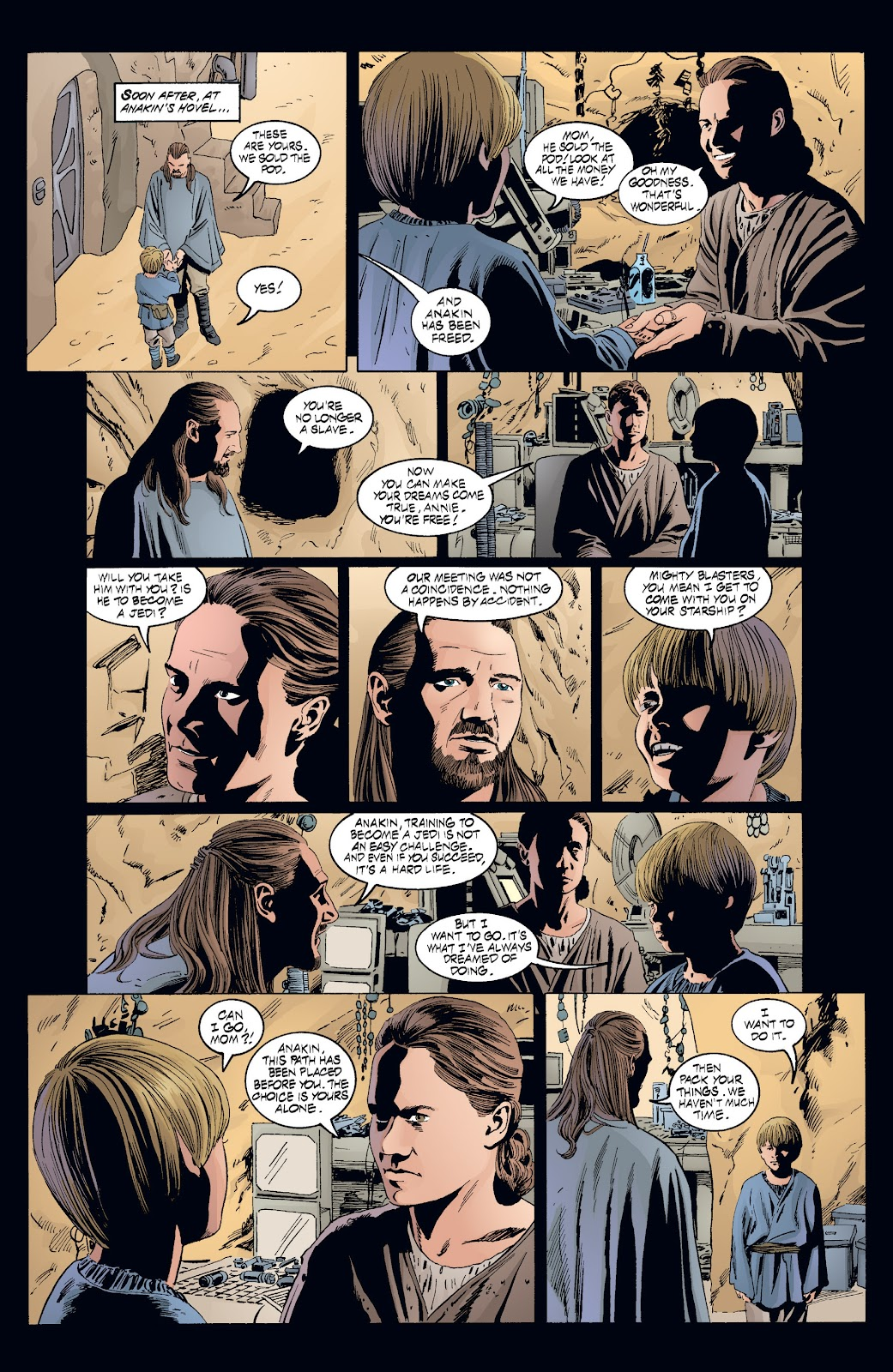 Read online Star Wars Legends: Rise of the Sith - Epic Collection comic -  Issue # TPB 2 (Part 3) - 91