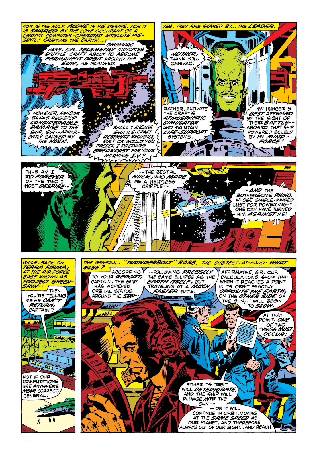 Read online Marvel Masterworks: The Incredible Hulk comic -  Issue # TPB 9 (Part 1) - 33