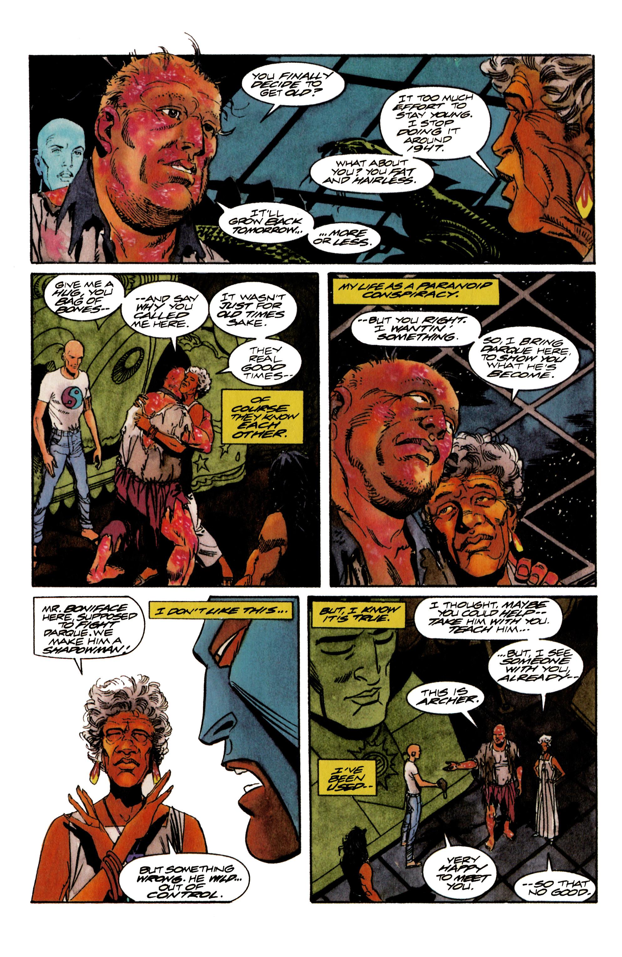 Read online Shadowman (1992) comic -  Issue #17 - 18