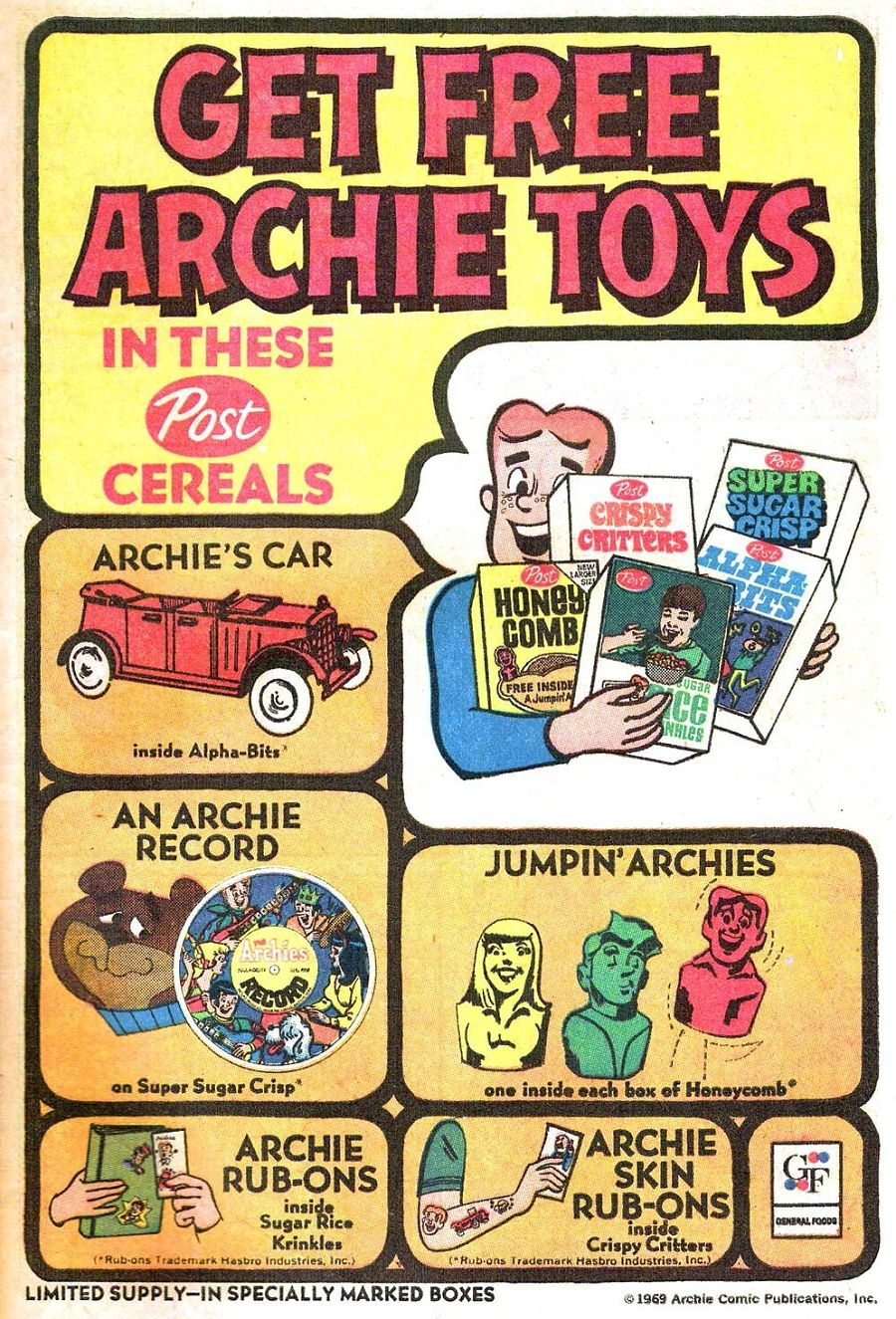 Read online Archie (1960) comic -  Issue #196 - 9