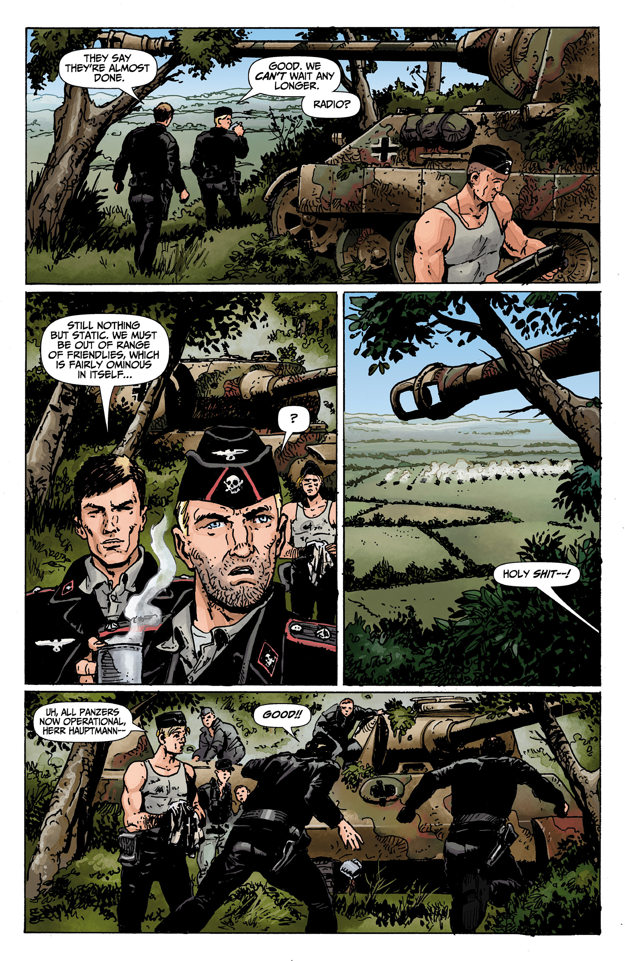 Read online World of Tanks comic -  Issue #1 - 16