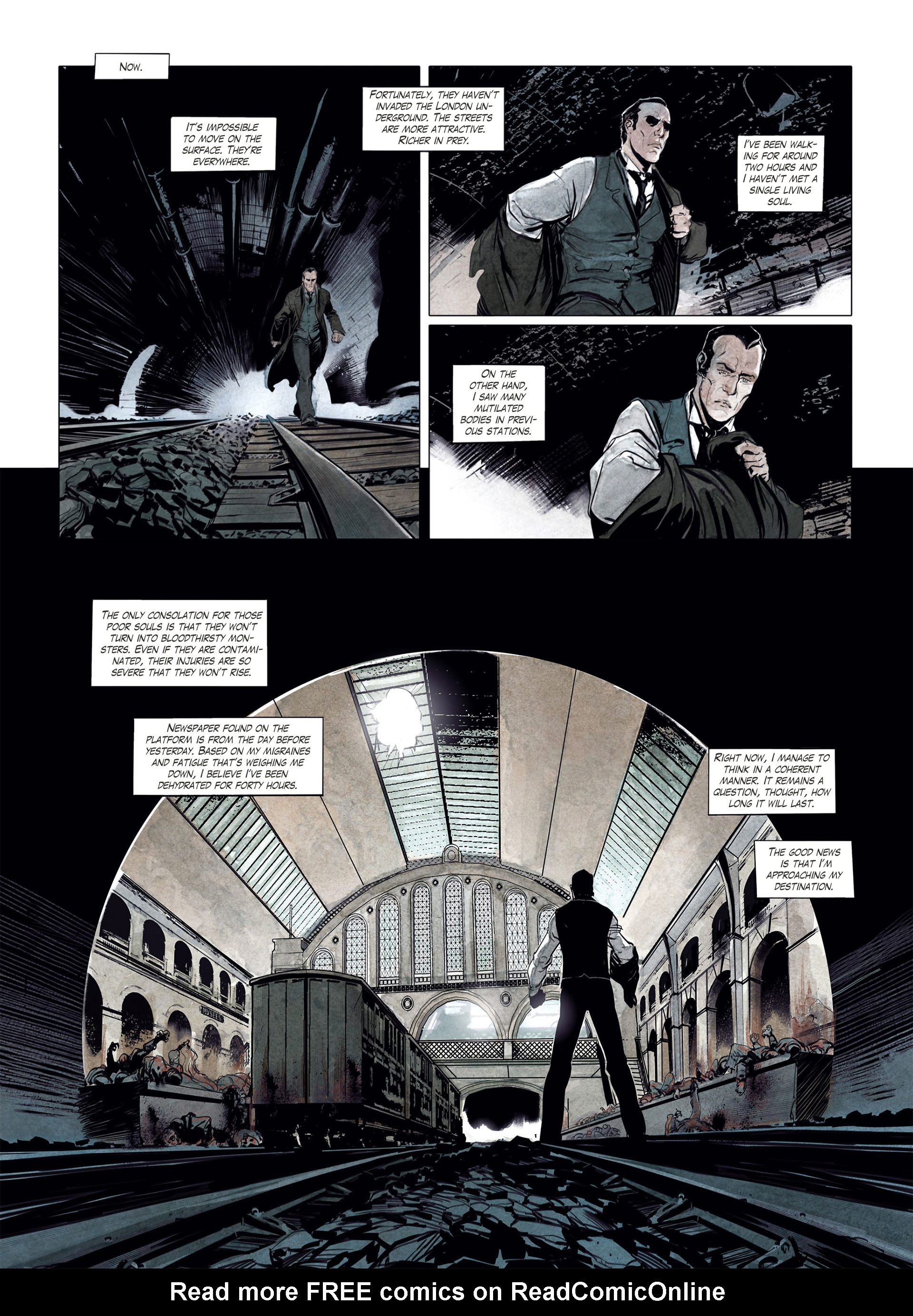 Read online Sherlock Holmes Society Tome 4 : Contamination comic -  Issue # Full - 6