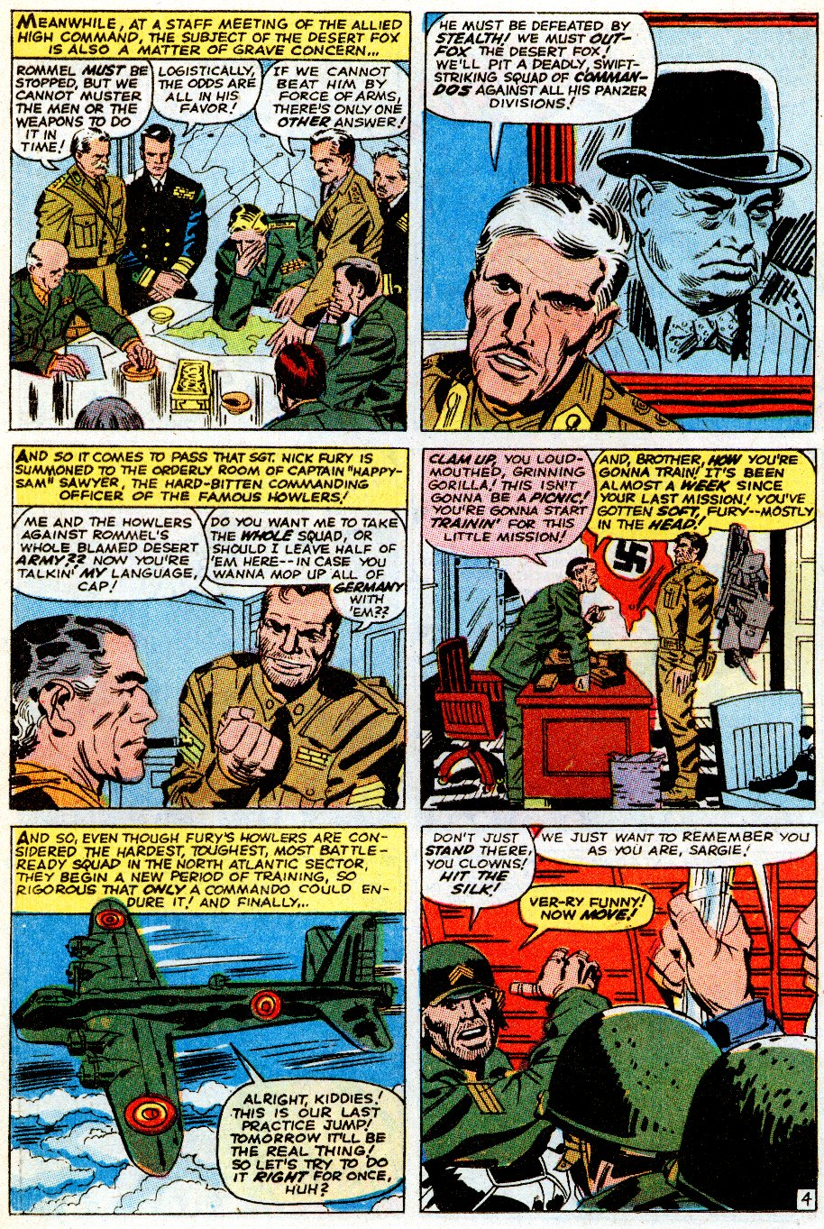 Read online Sgt. Fury comic -  Issue # _Special 5 - 6