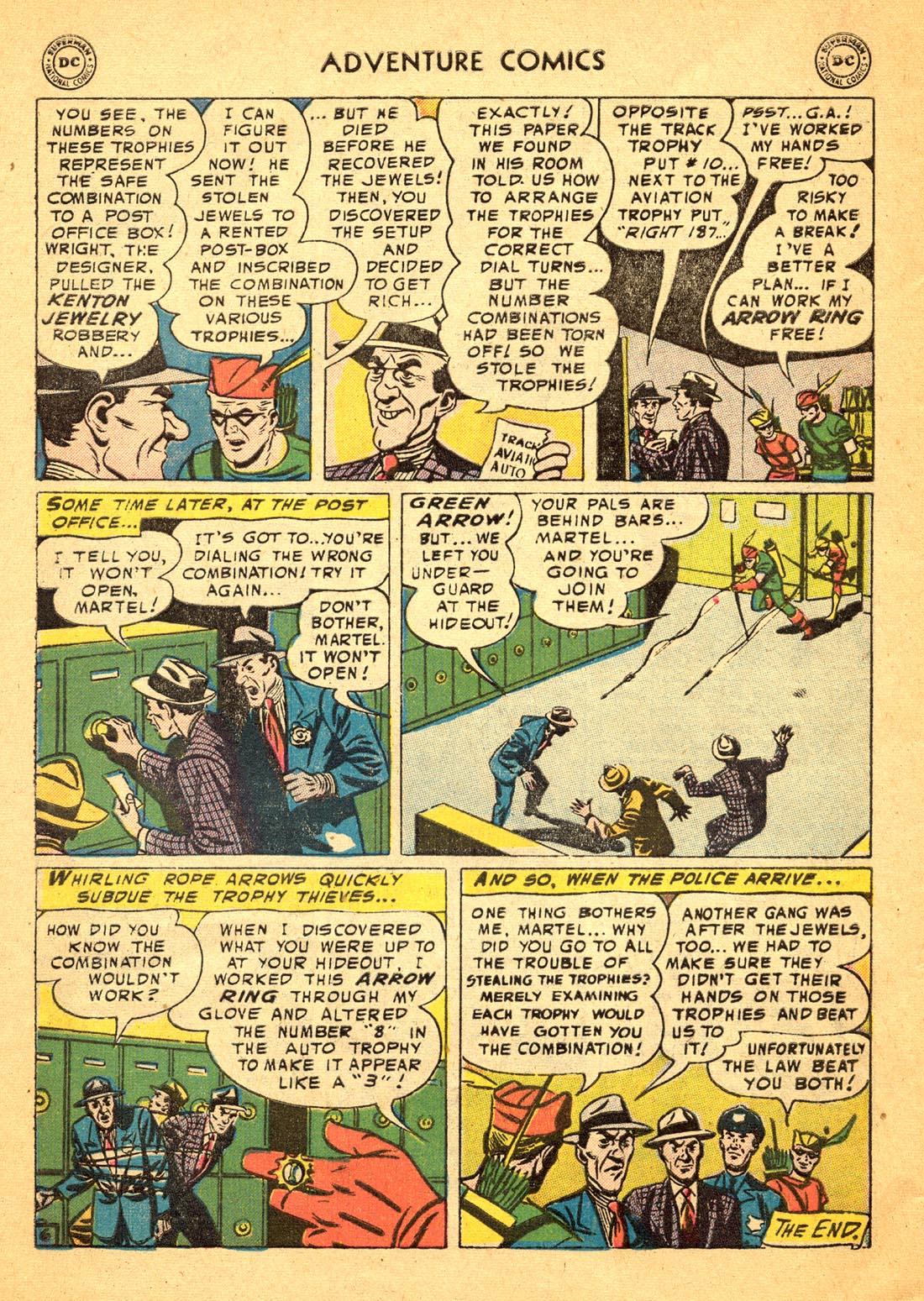 Read online Adventure Comics (1938) comic -  Issue #217 - 32