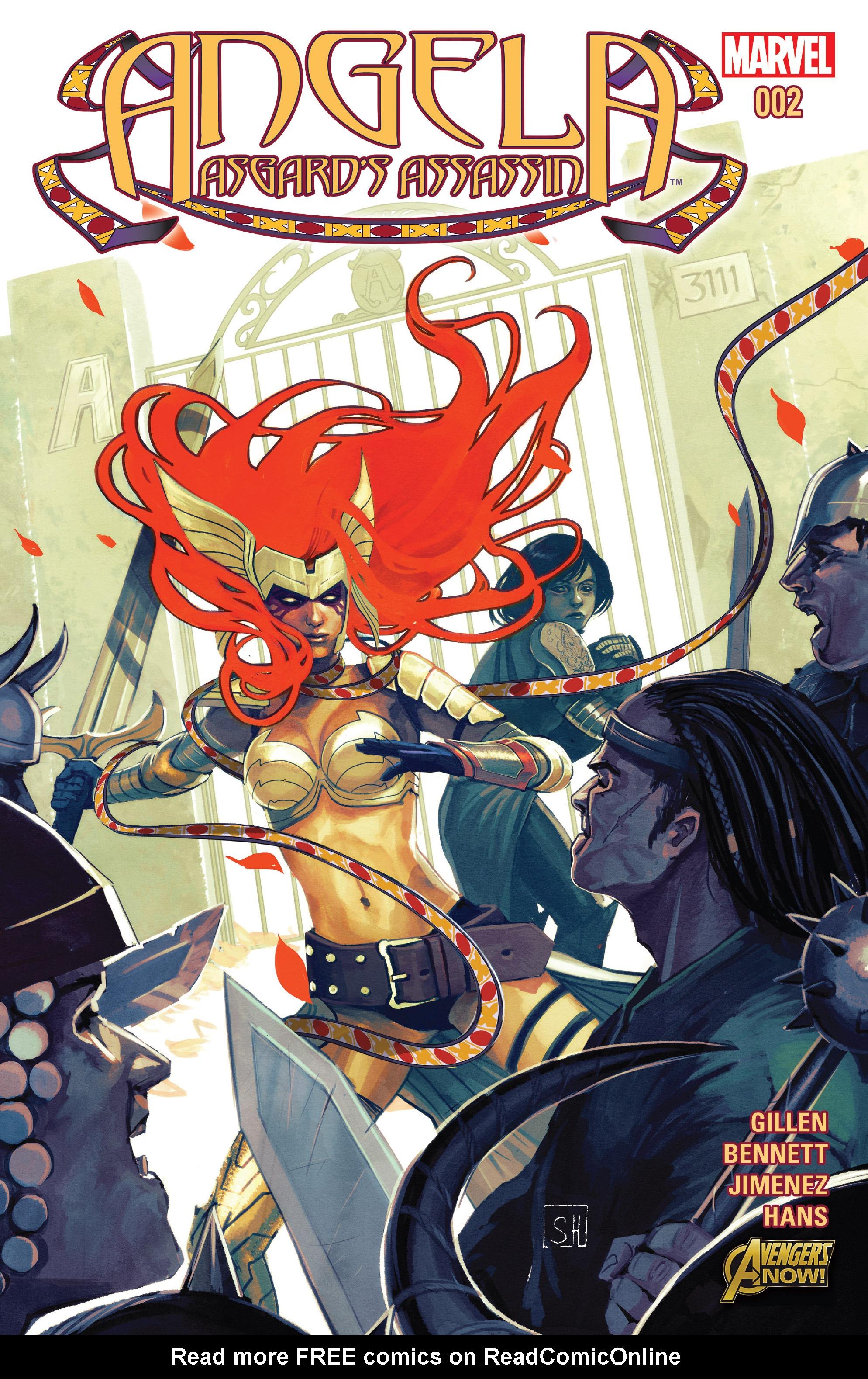 Read online Angela: Asgard's Assassin comic -  Issue #2 - 1