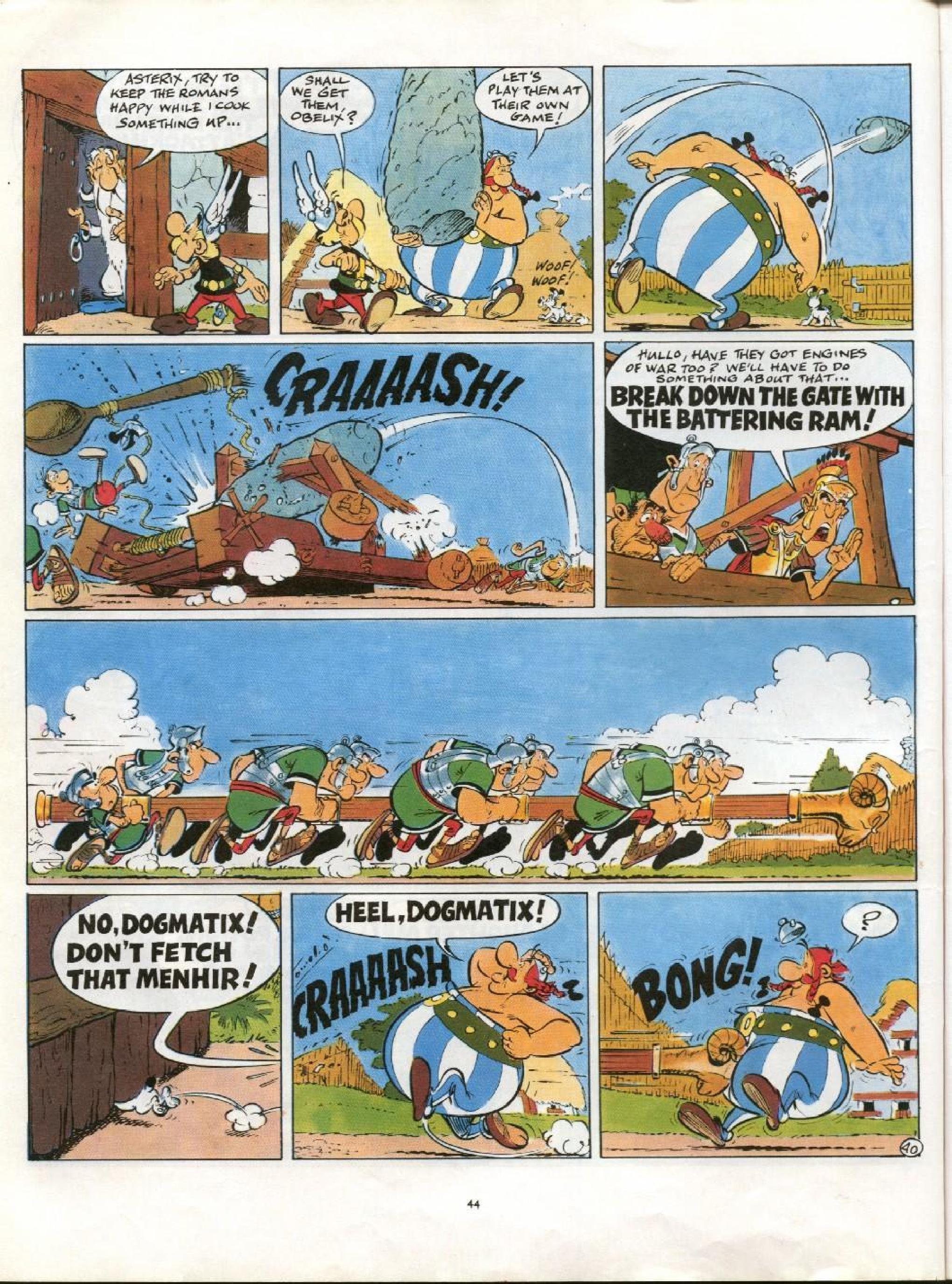 Read online Asterix comic -  Issue #21 - 41