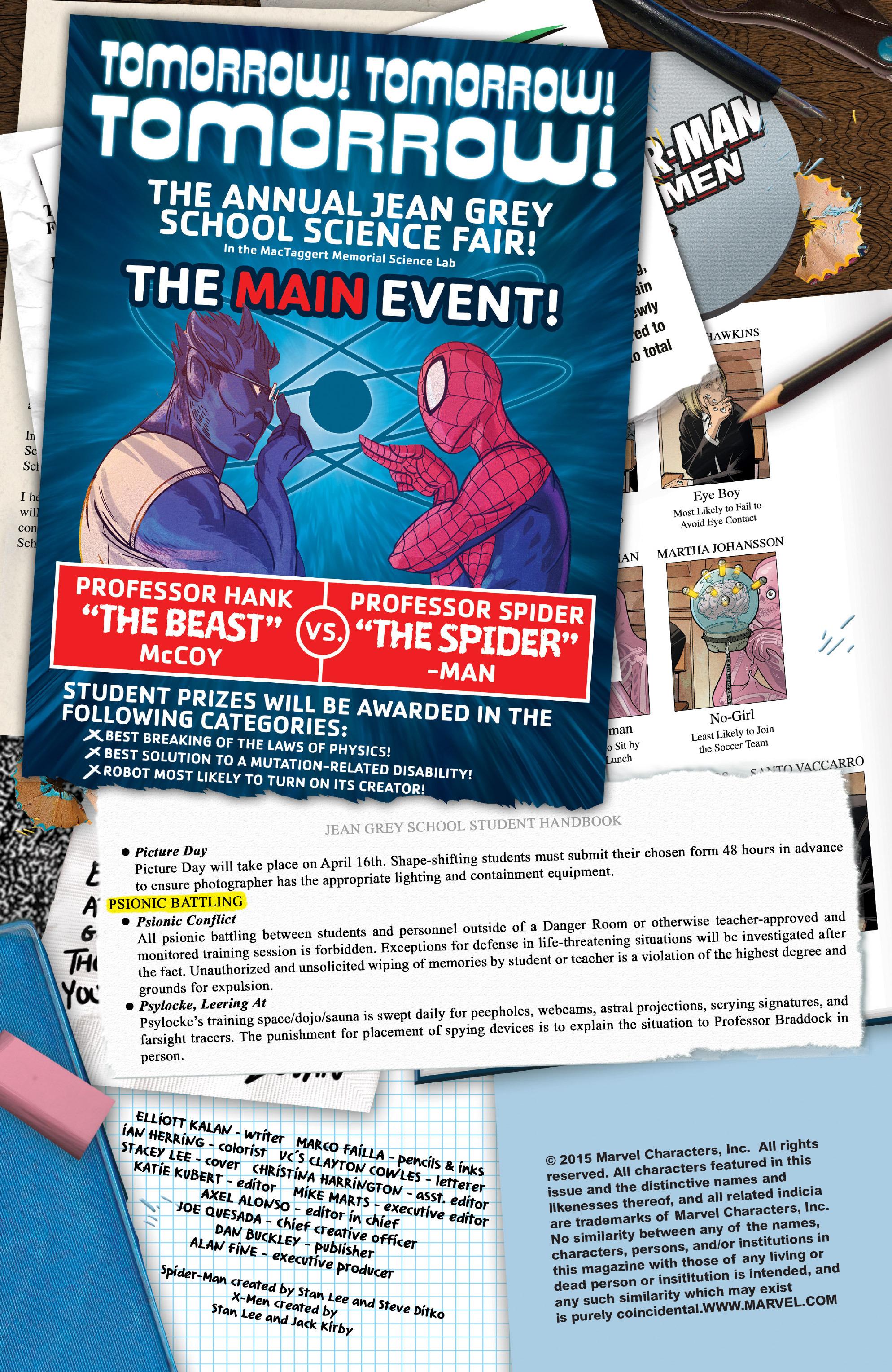 Spider-Man & the X-Men 5 Page 2