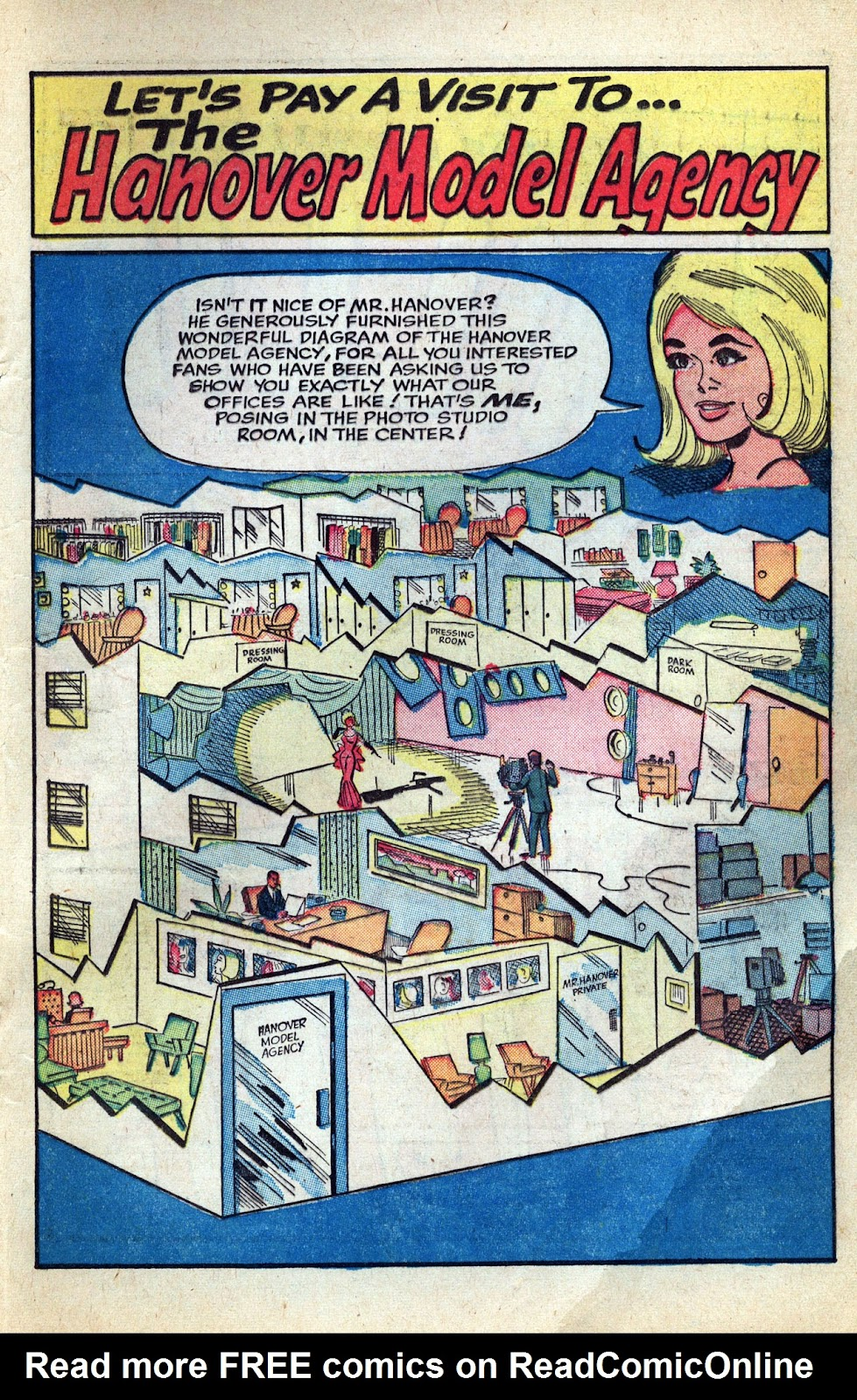 Read online Millie the Model comic -  Issue # Annual 3 - 73