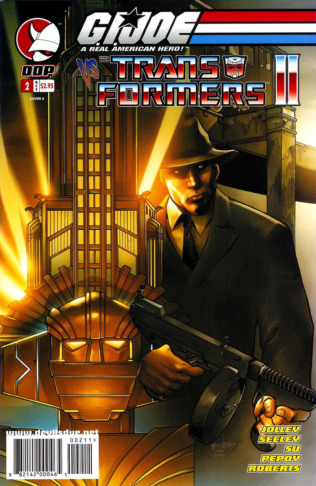 G.I. Joe vs. The Transformers II Issue #2 #3 - English 1