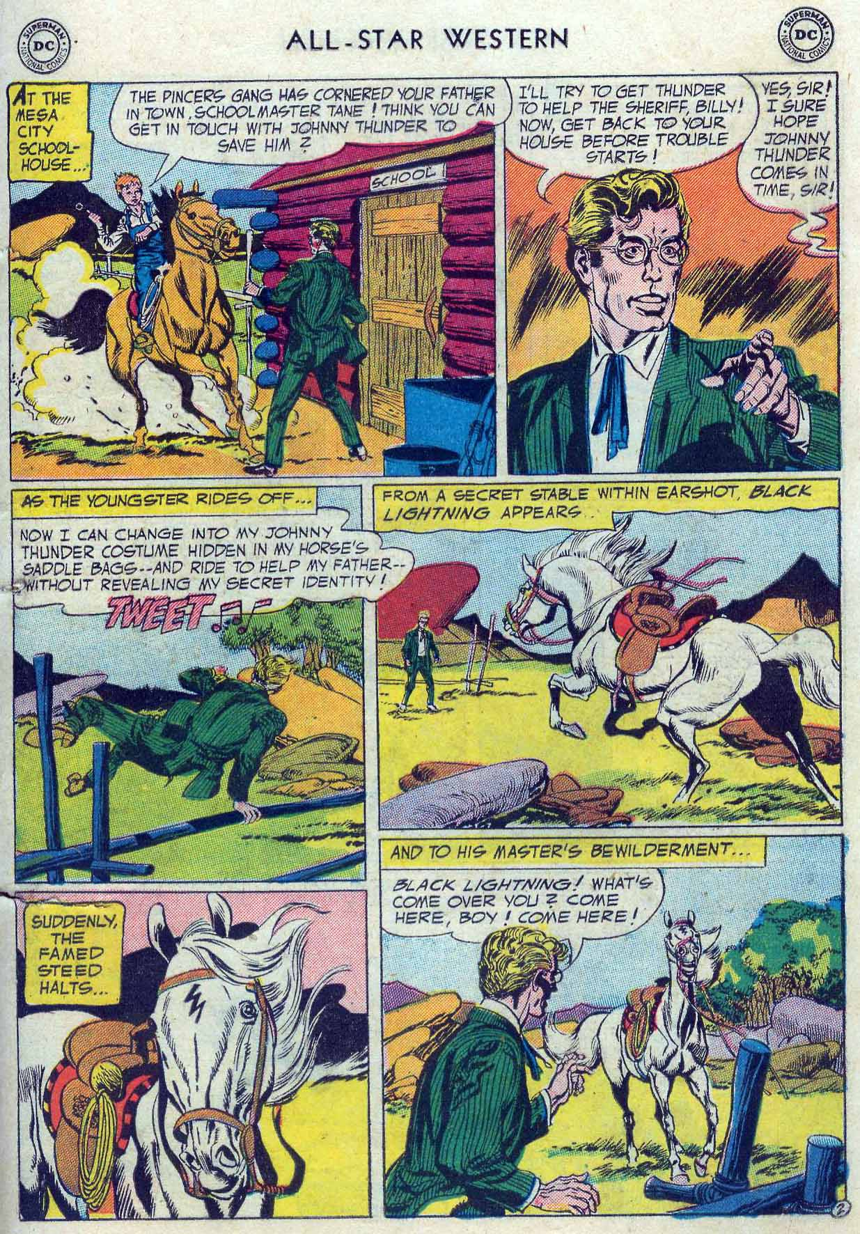 Read online All-Star Western (1951) comic -  Issue #85 - 29