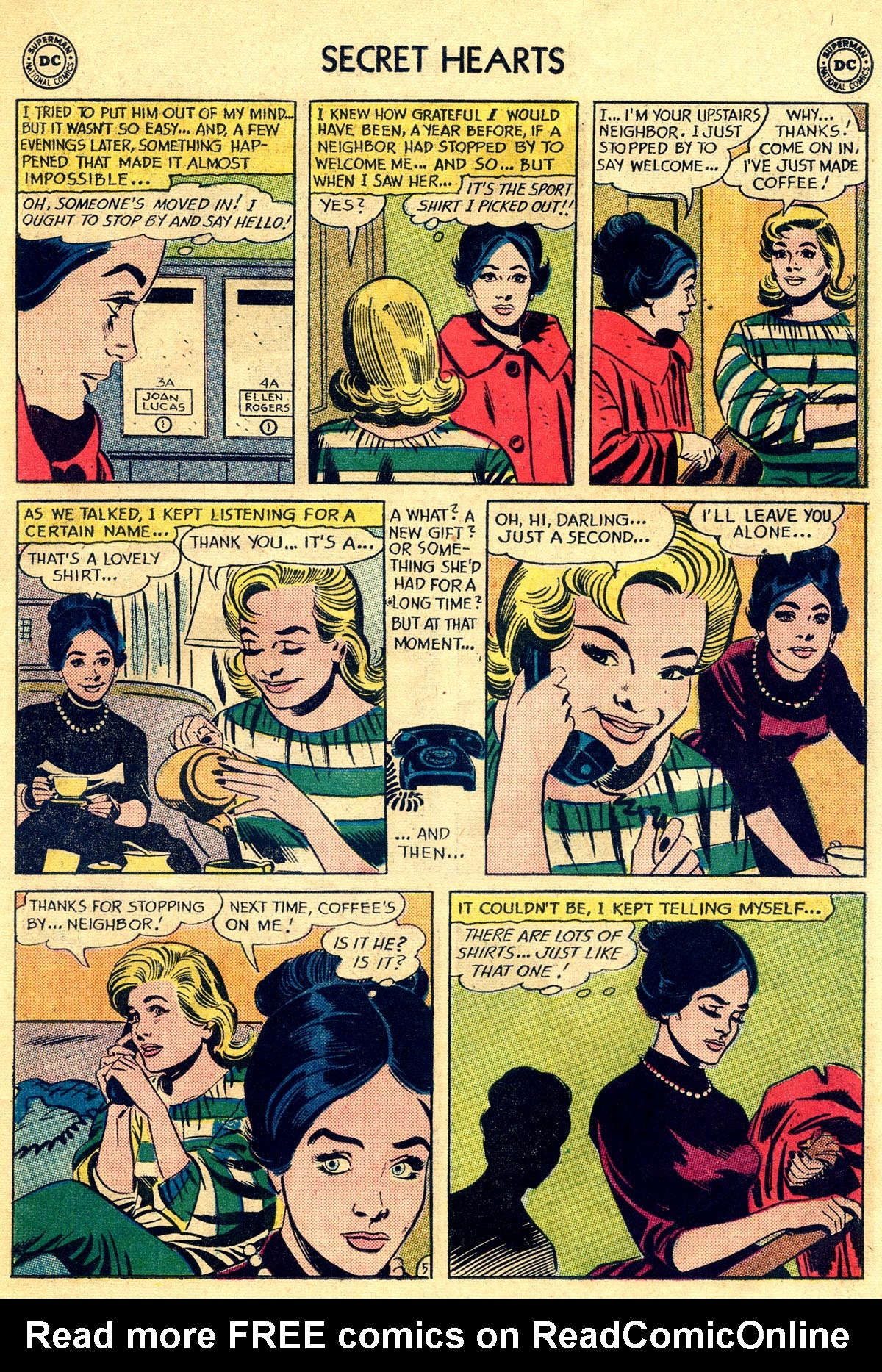 Read online Secret Hearts comic -  Issue #81 - 15