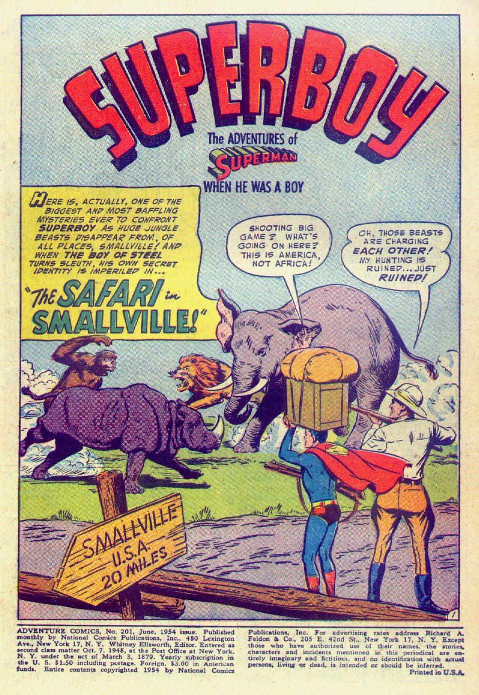 Read online Adventure Comics (1938) comic -  Issue #201 - 3