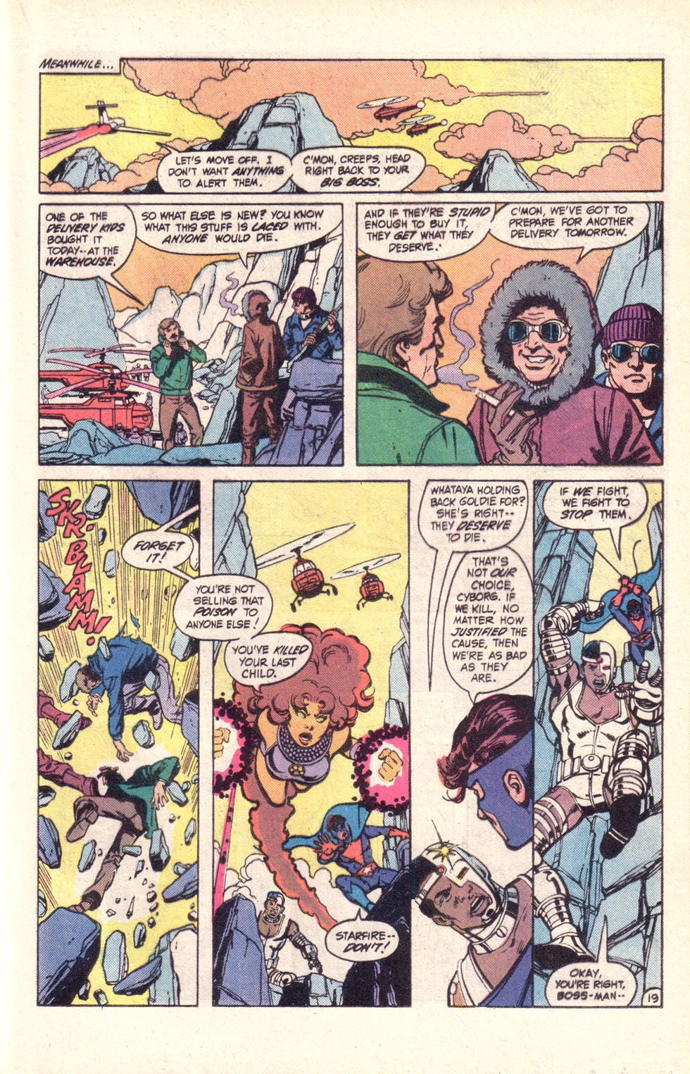 Read online The New Teen Titans (Drug Awareness Specials) comic -  Issue #2 - 21