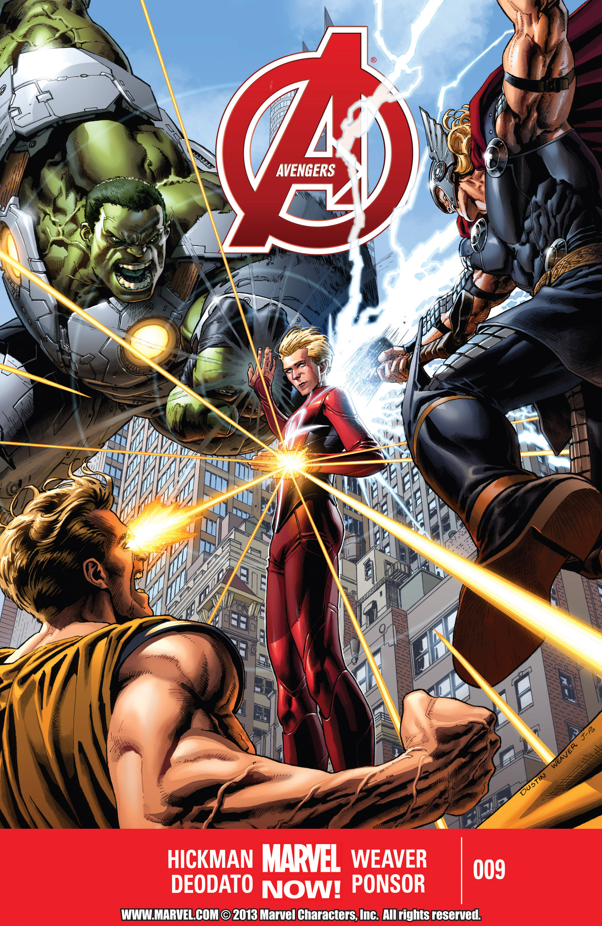 Read online Avengers (2013) comic -  Issue #9 - 1