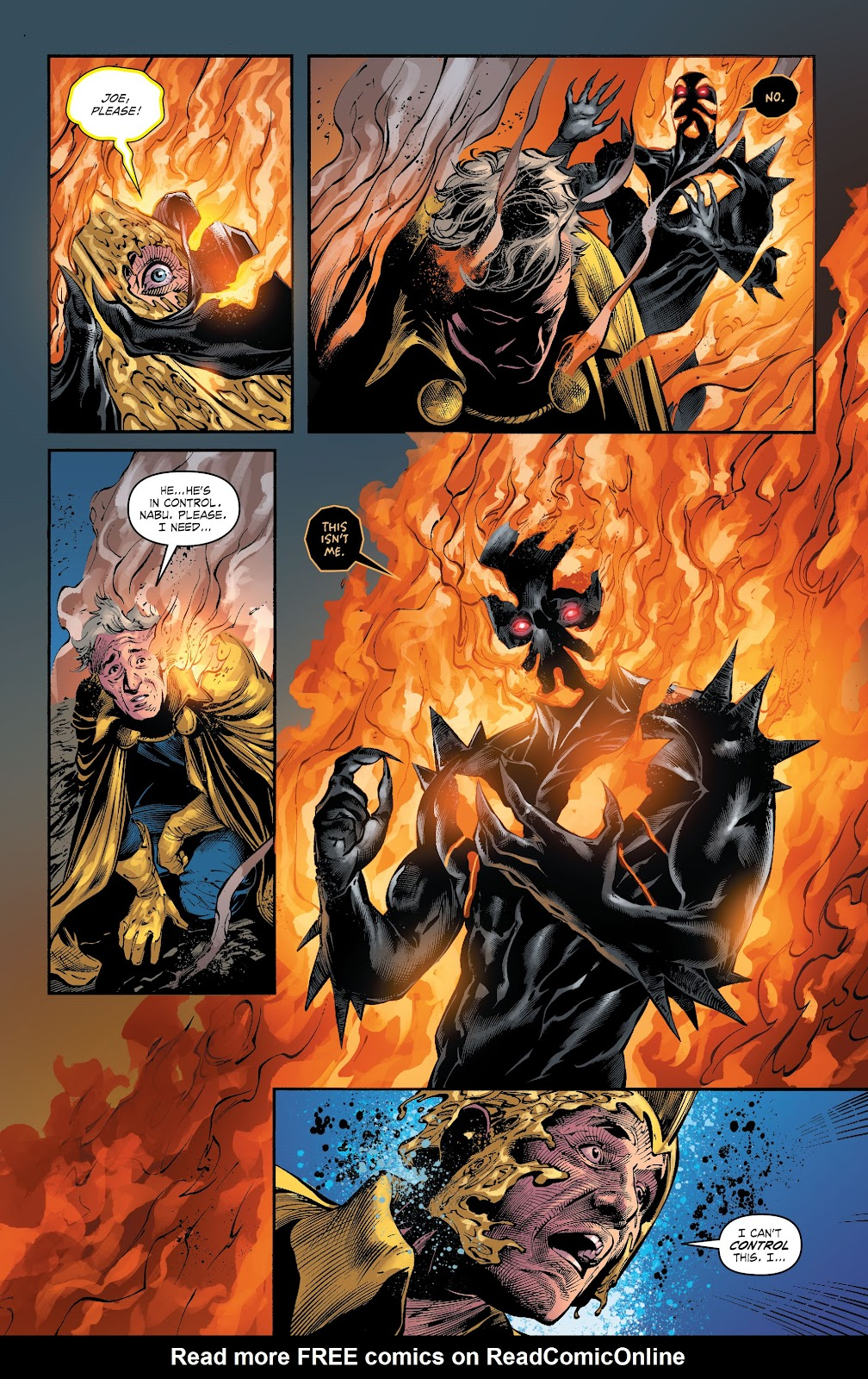 Read online The Curse of Brimstone: Ashes comic -  Issue # TPB (Part 1) - 97
