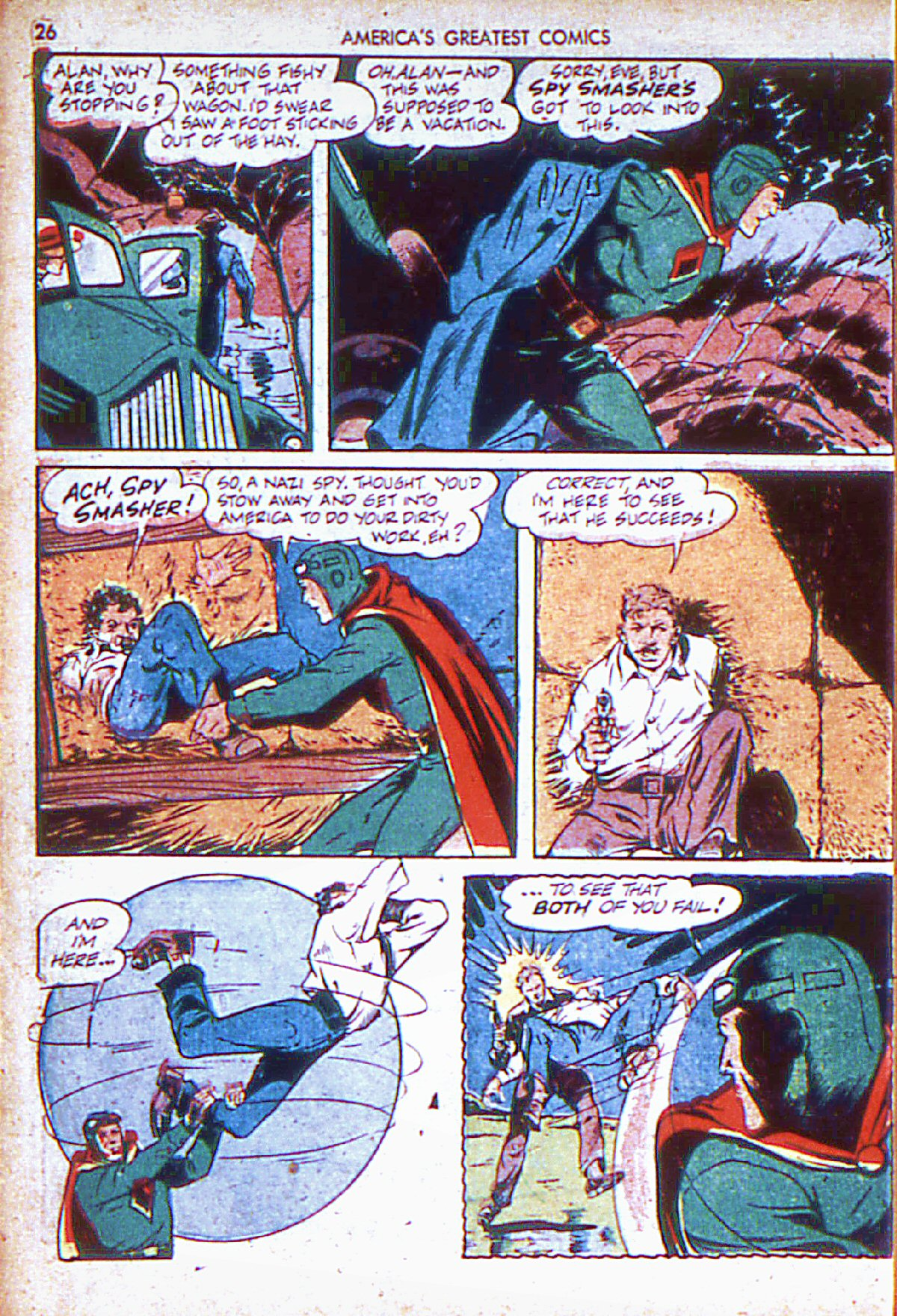 Read online America's Greatest Comics comic -  Issue #6 - 27