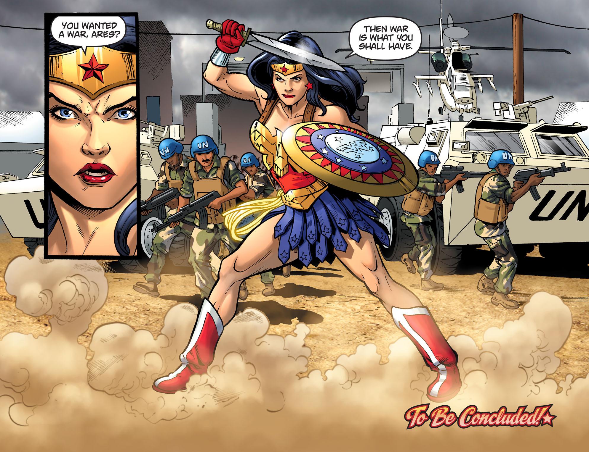 Read online Sensation Comics Featuring Wonder Woman comic -  Issue #34 - 22
