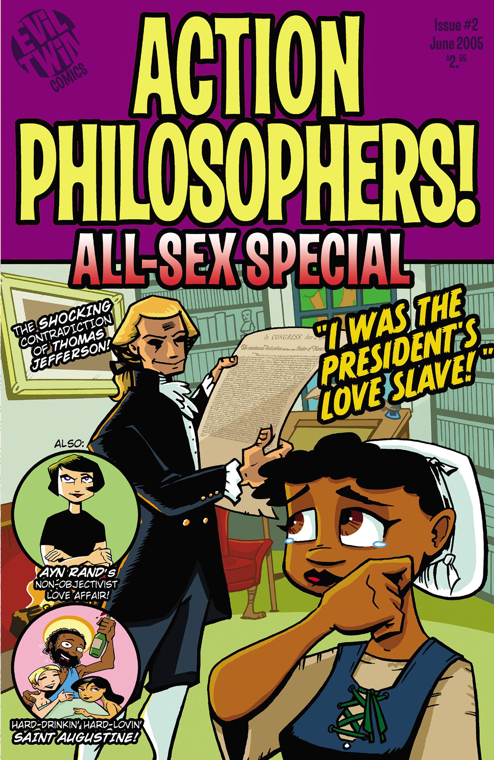 Read online Action Philosophers! comic -  Issue #Action Philosophers! TPB (Part 2) - 152