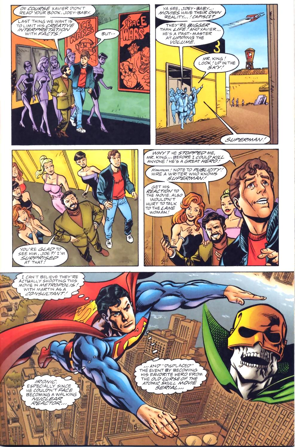 Read online Adventures of Superman (1987) comic -  Issue #571 - 7