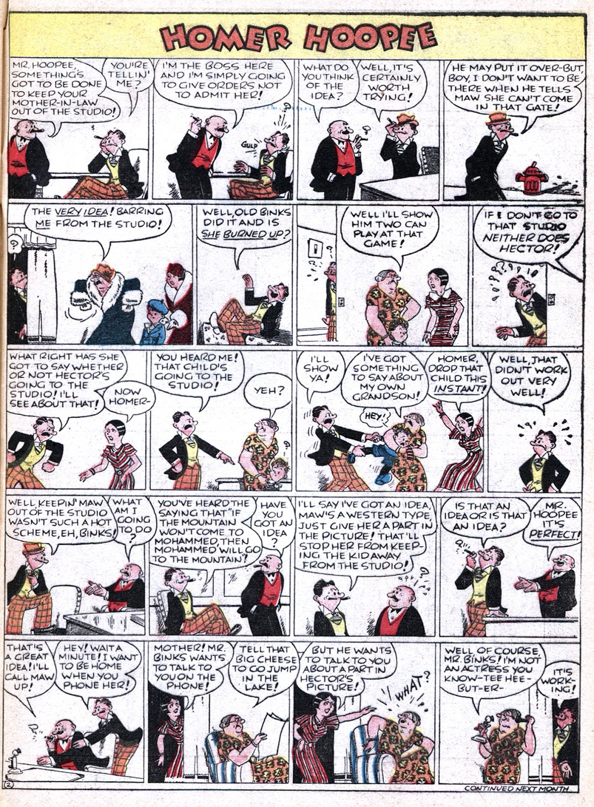 Read online Famous Funnies comic -  Issue #36 - 63
