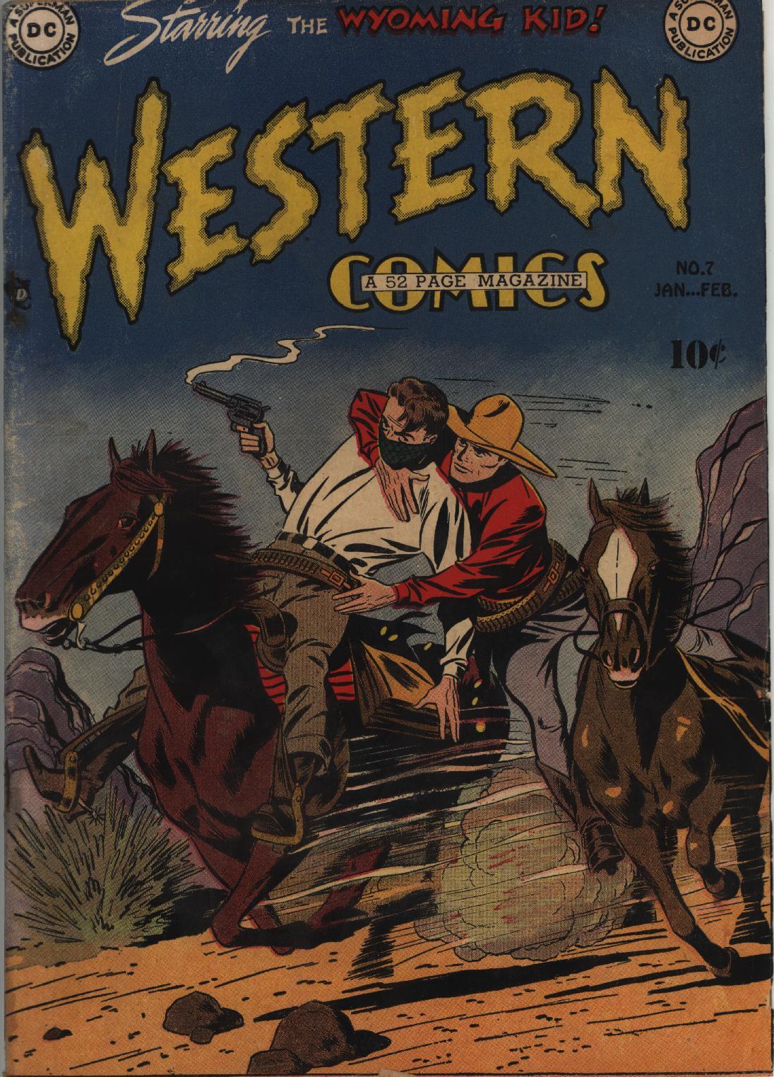 Western Comics 7 Page 1