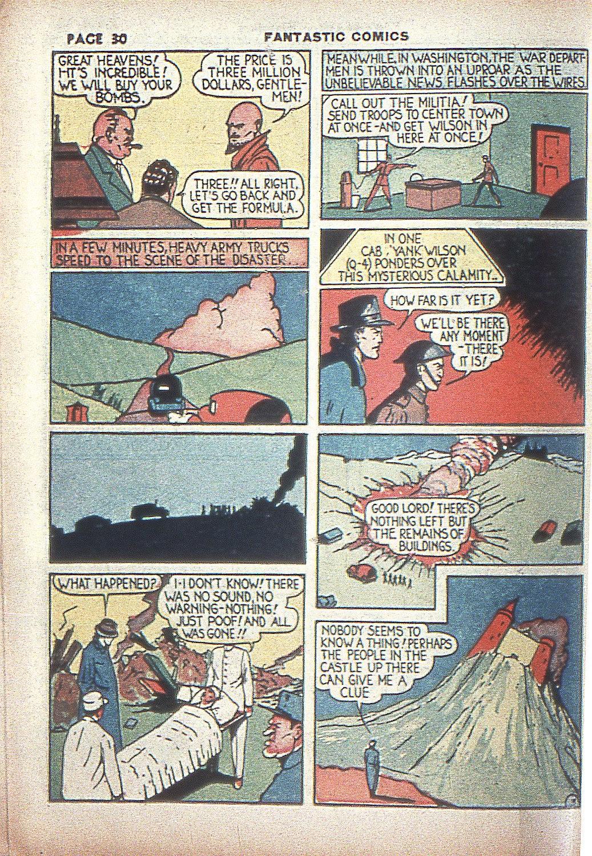 Read online Fantastic Comics comic -  Issue #4 - 32