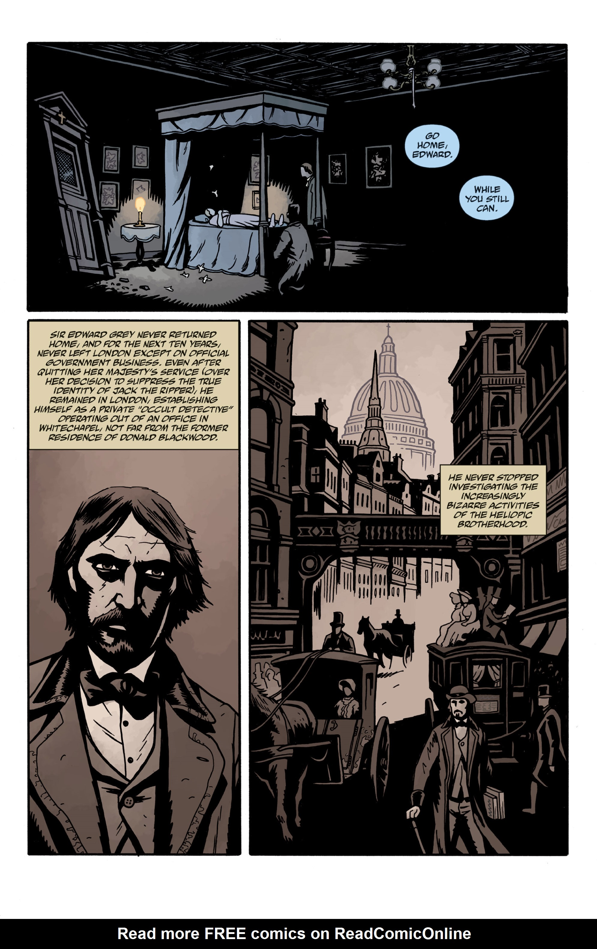Read online Sir Edward Grey, Witchfinder: In the Service of Angels comic -  Issue # TPB - 124
