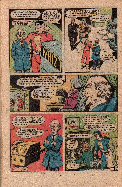 Read online Shazam! (1973) comic -  Issue #20 - 26