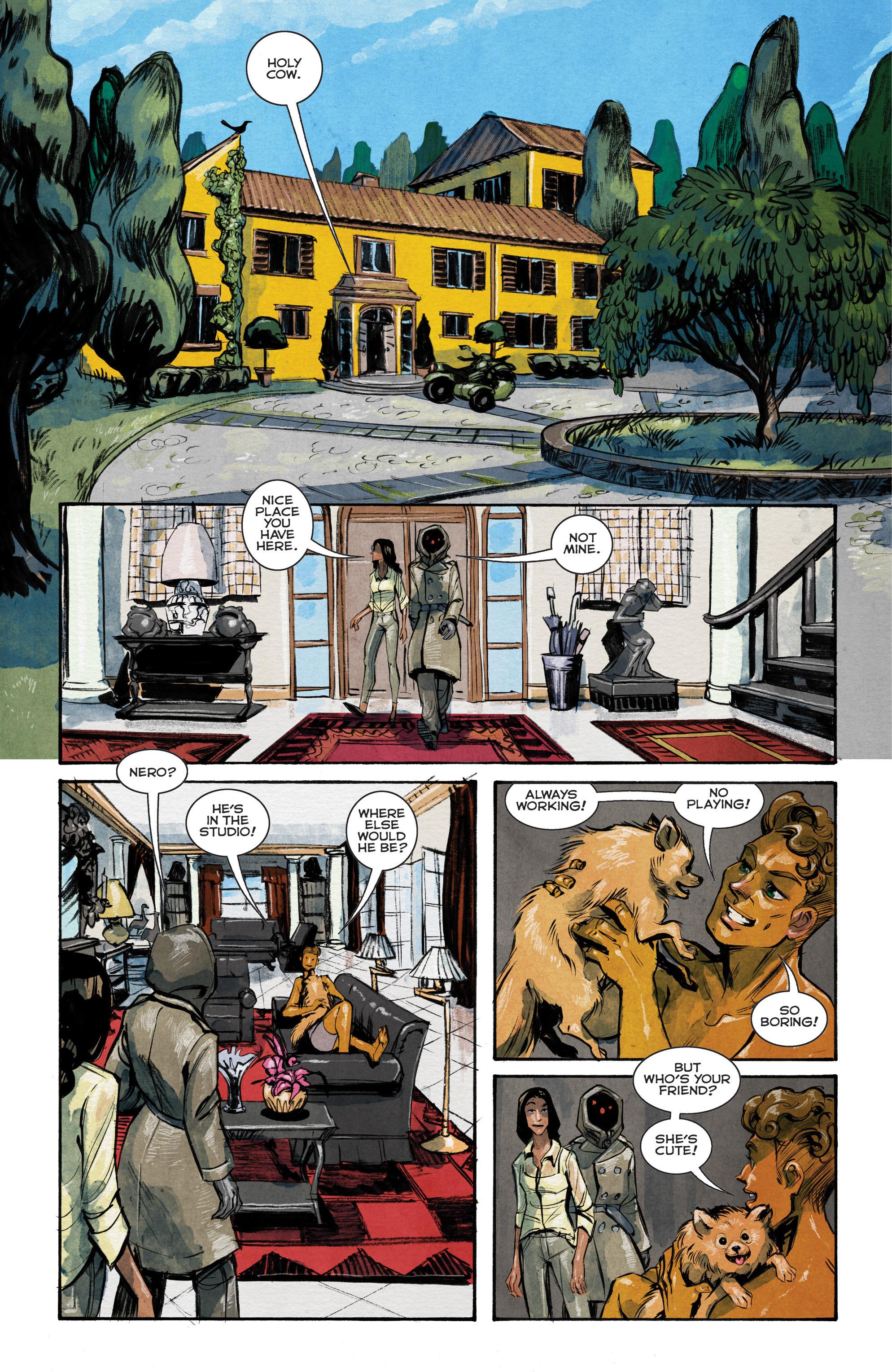Read online Shutter comic -  Issue #14 - 12