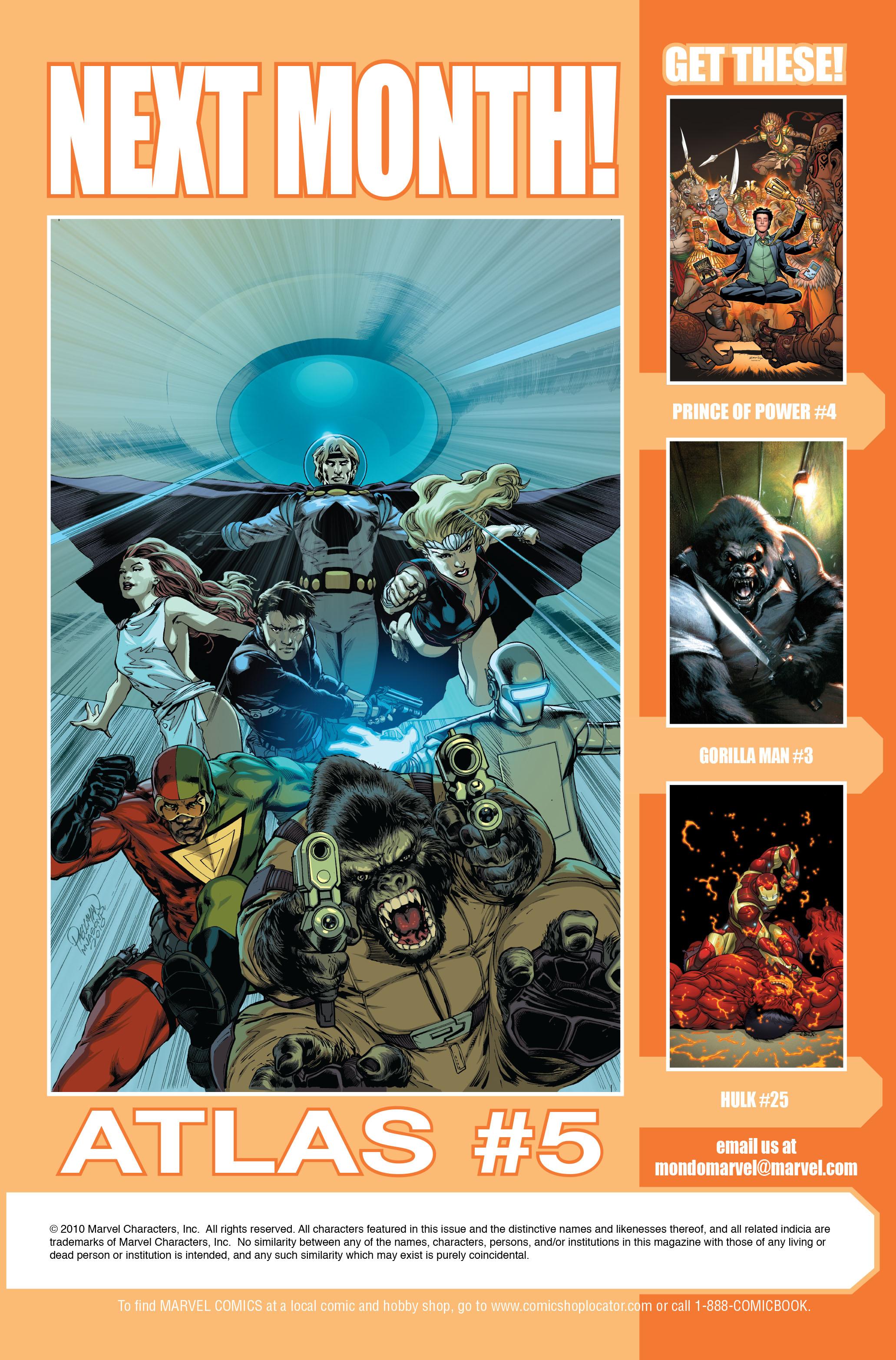 Read online Atlas comic -  Issue #4 - 25