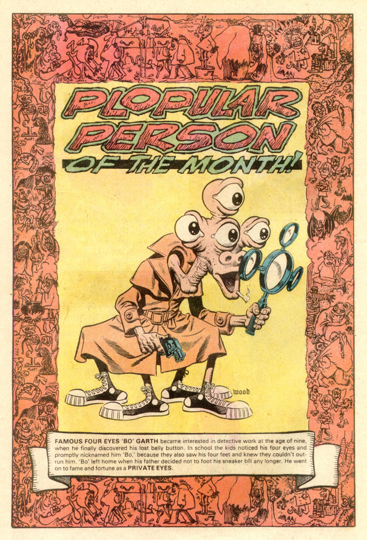 Read online Plop! comic -  Issue #21 - 20