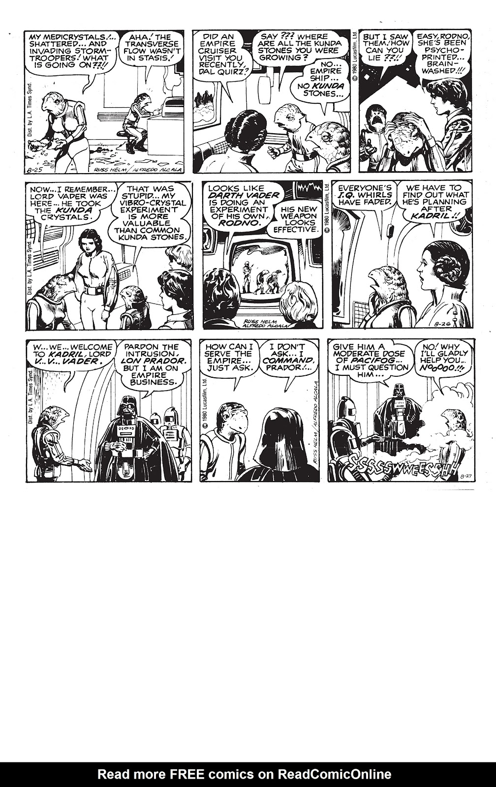 Read online Star Wars Legends: The Newspaper Strips - Epic Collection comic -  Issue # TPB (Part 3) - 87