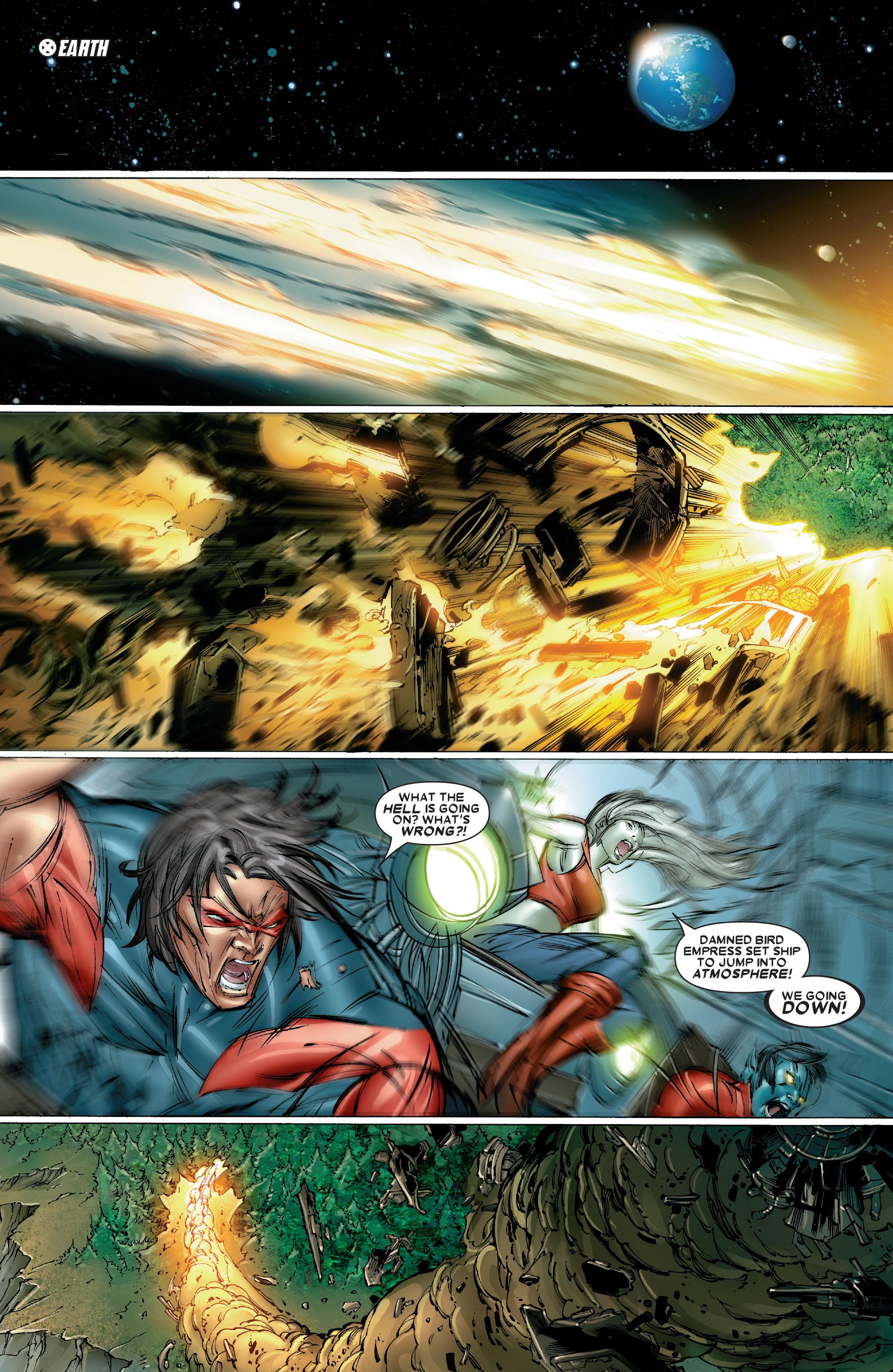 Read online Uncanny X-Men (1963) comic -  Issue #486 - 20