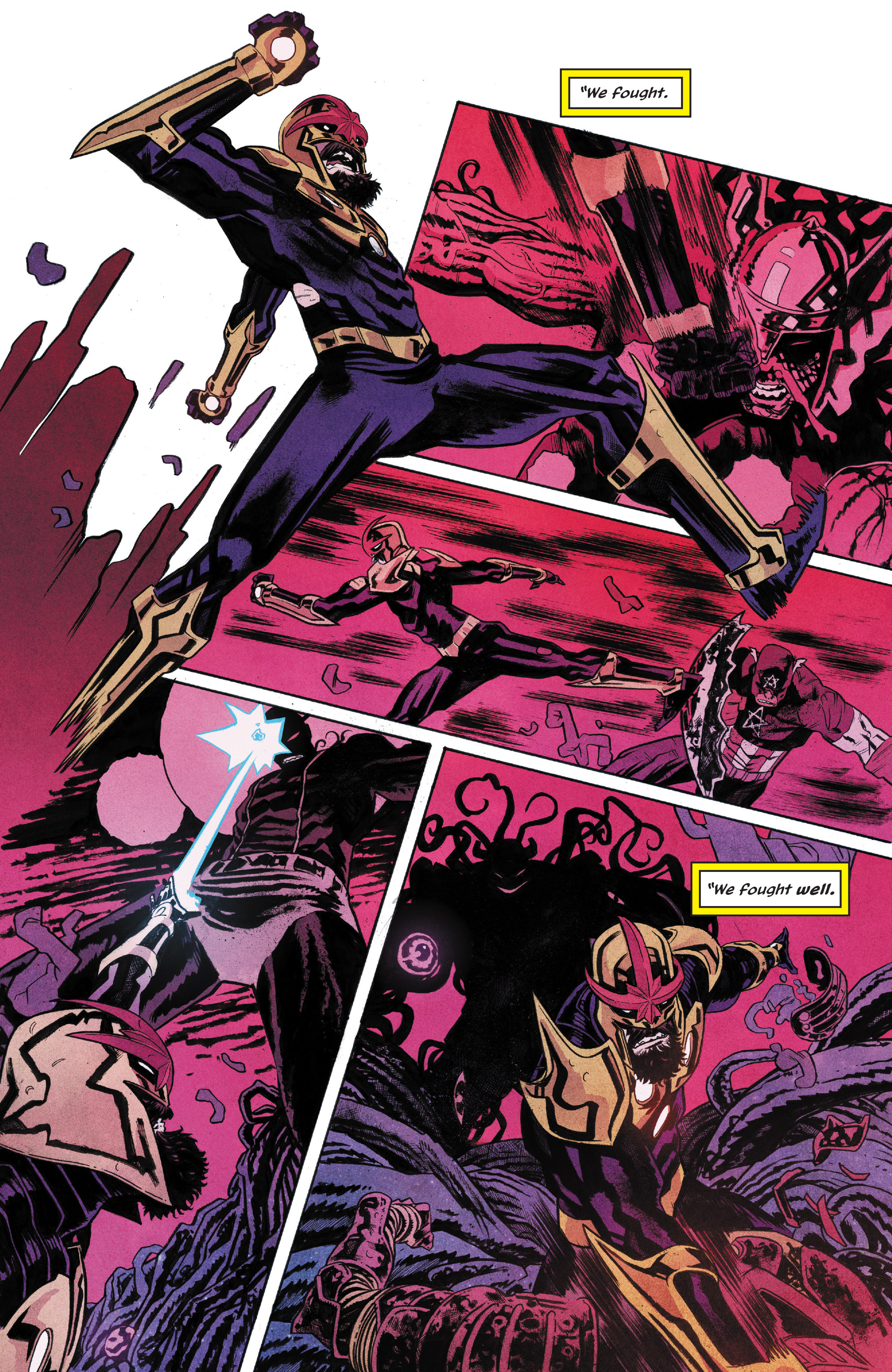 Read online Nova (2017) comic -  Issue #6 - 11