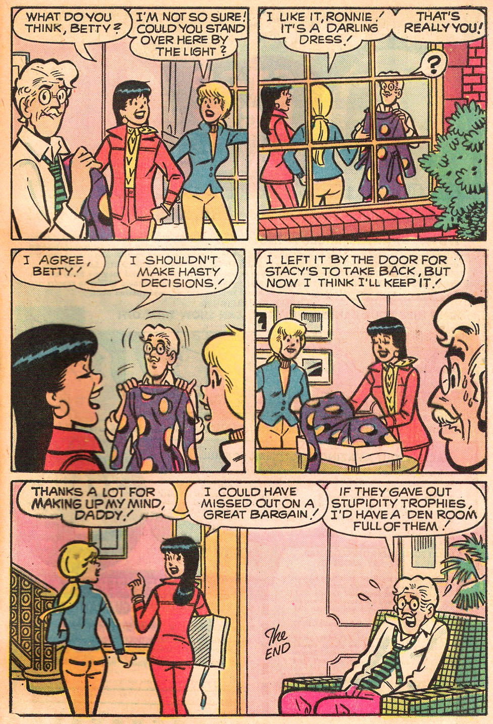 Read online Archie's Girls Betty and Veronica comic -  Issue #242 - 33