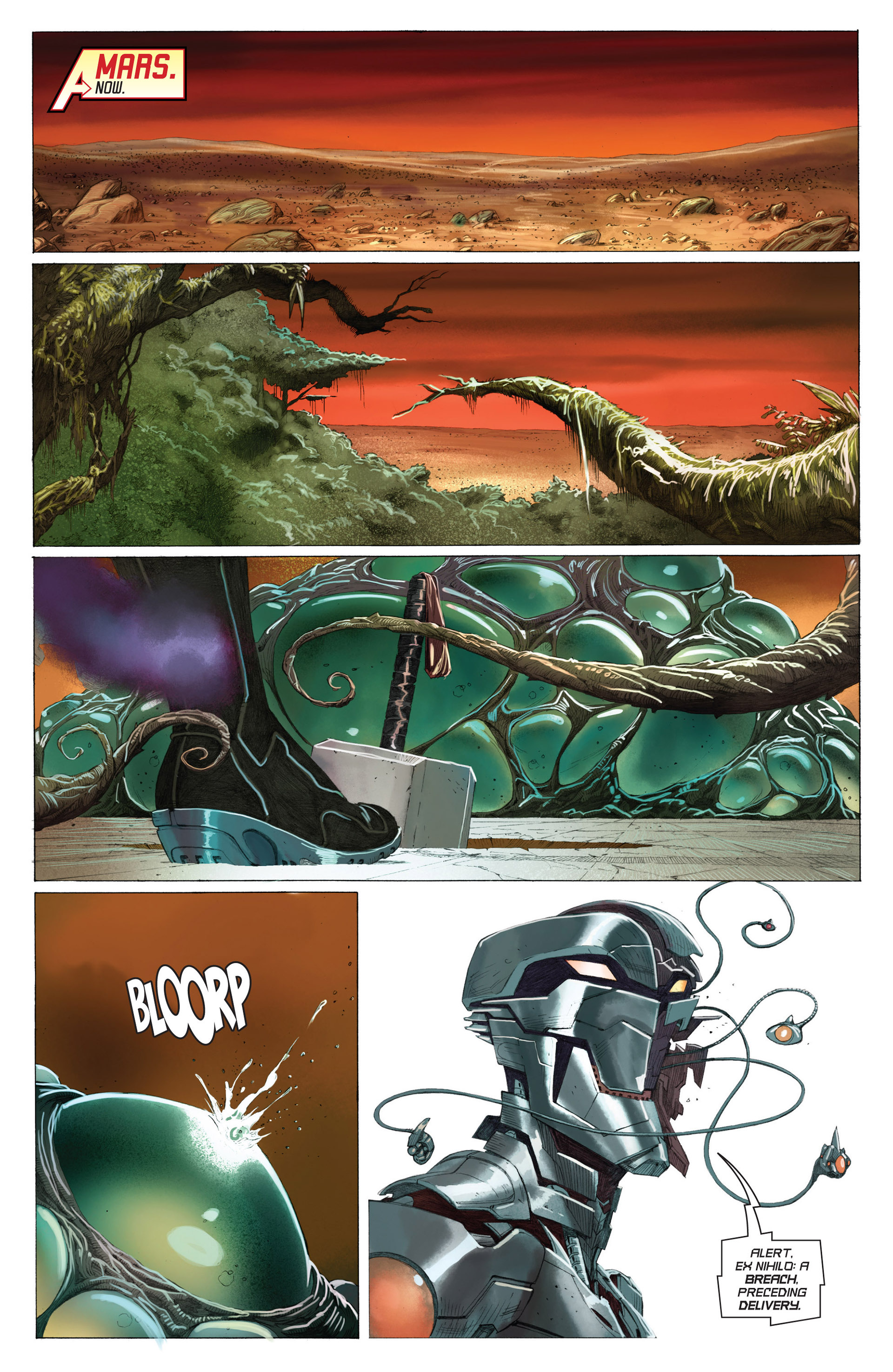 Read online Avengers (2013) comic -  Issue #3 - 5