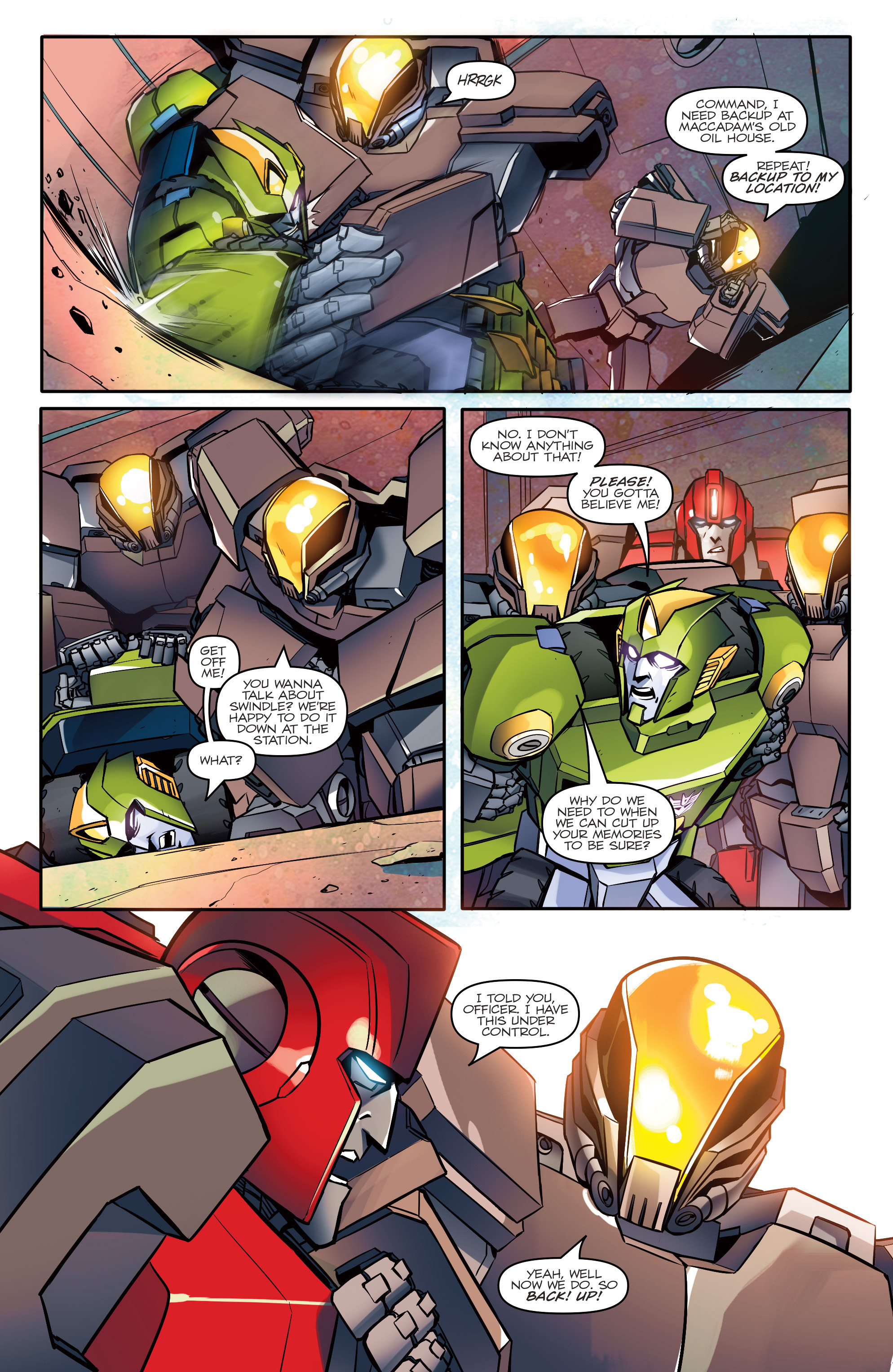 Read online Transformers: Till All Are One comic -  Issue #1 - 14