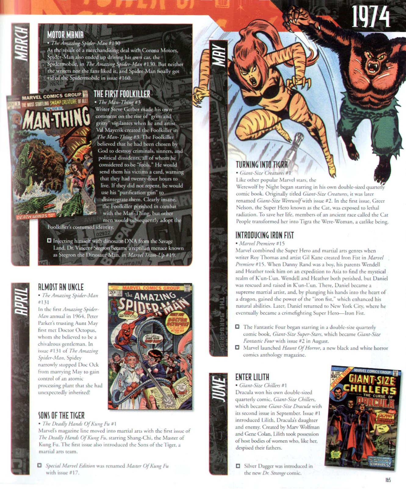 Read online Marvel Chronicle comic -  Issue # TPB (Part 2) - 56