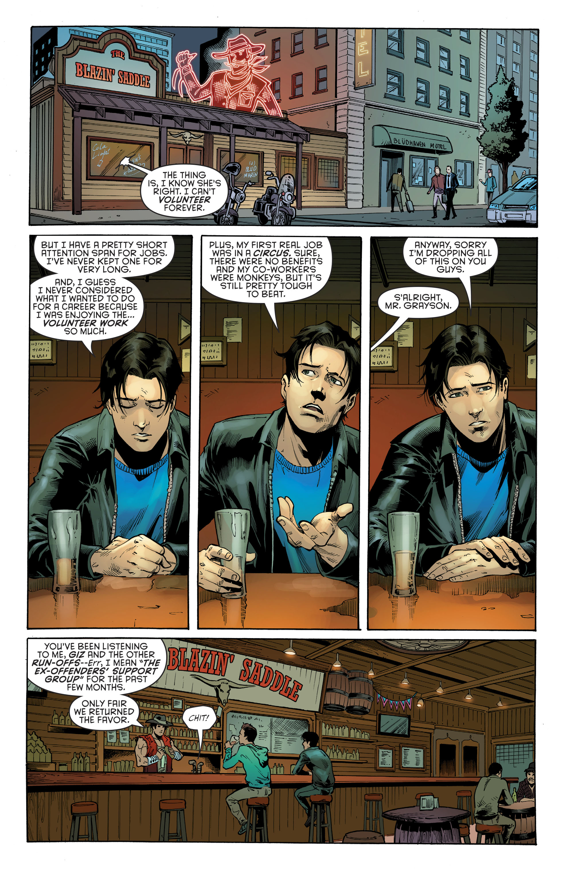 Read online Nightwing (2016) comic -  Issue #22 - 17