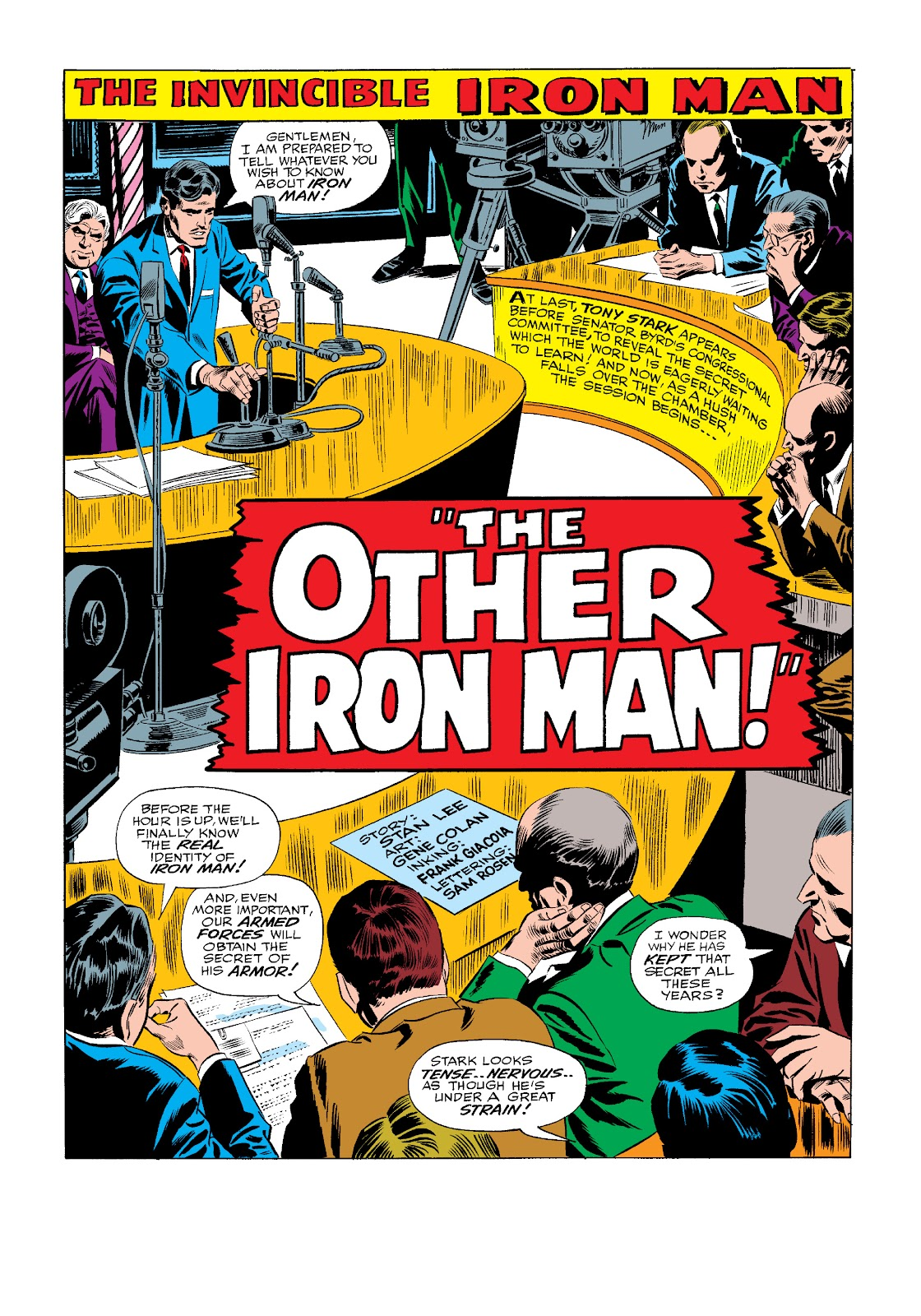 Read online Marvel Masterworks: The Invincible Iron Man comic -  Issue # TPB 4 (Part 1) - 7