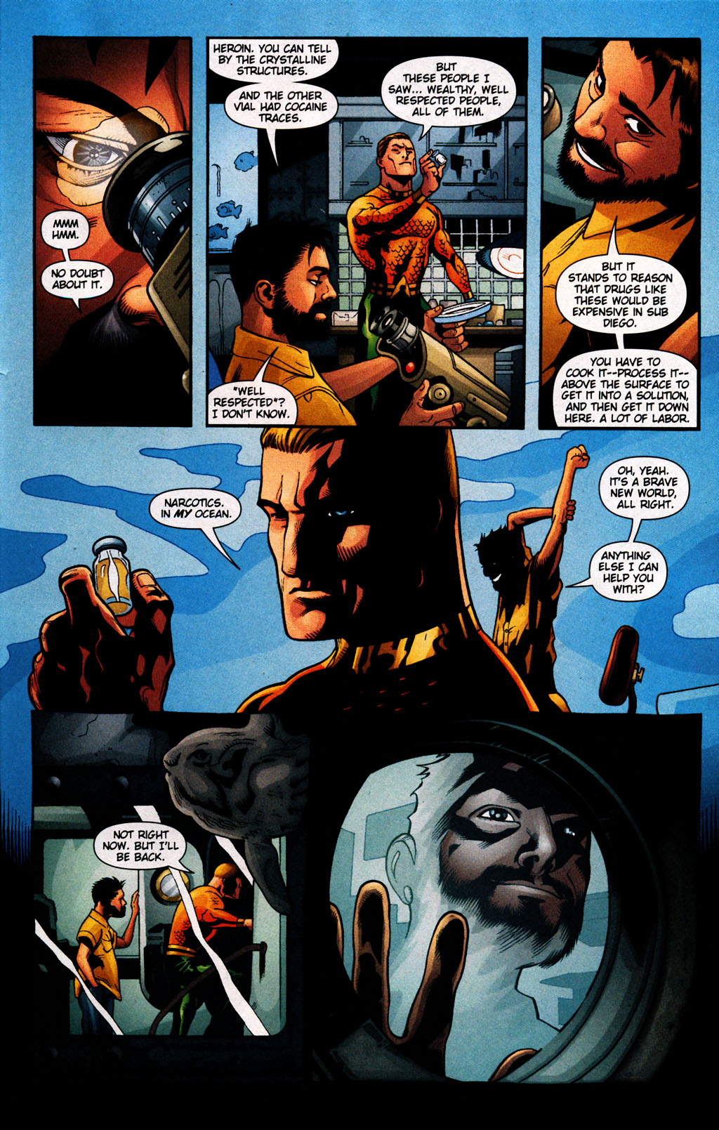 Read online Aquaman (2003) comic -  Issue #25 - 13