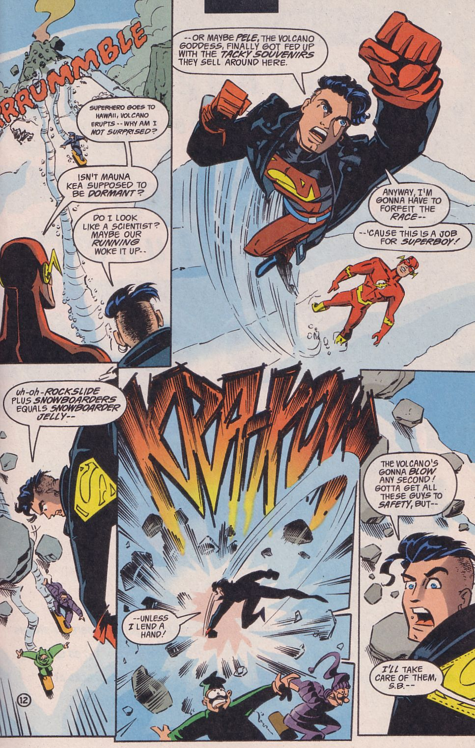 Read online Adventures in the DC Universe comic -  Issue #14 - 13