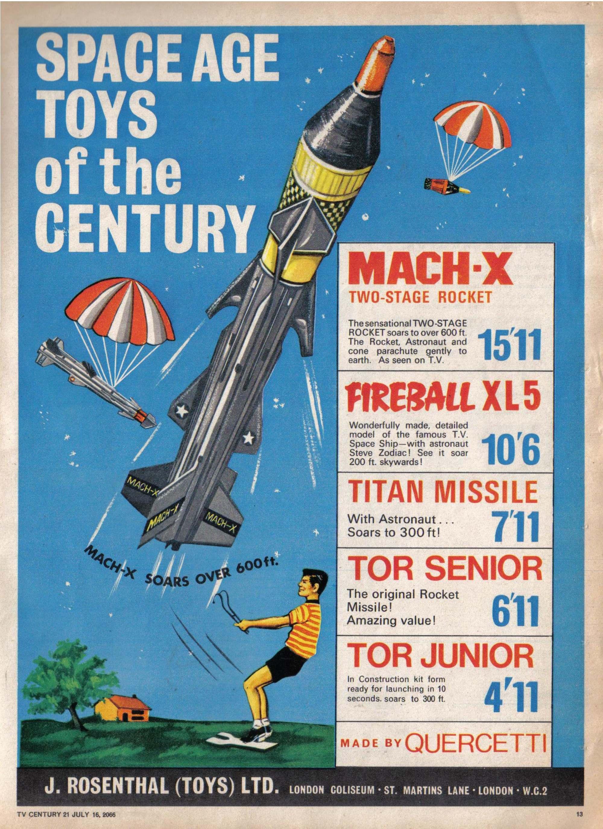 Read online TV Century 21 (TV 21) comic -  Issue #78 - 12