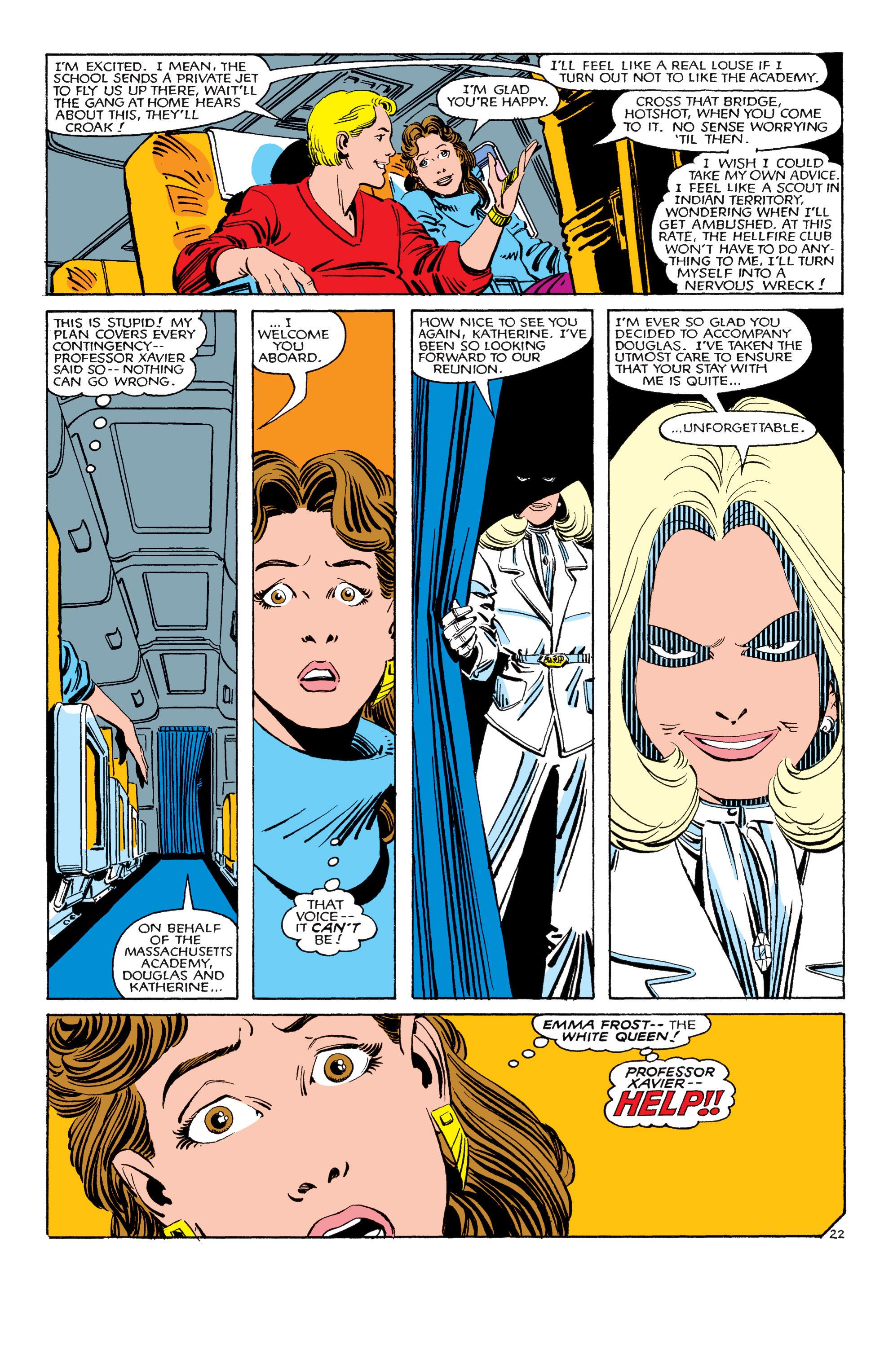 Read online Uncanny X-Men (1963) comic -  Issue #180 - 23
