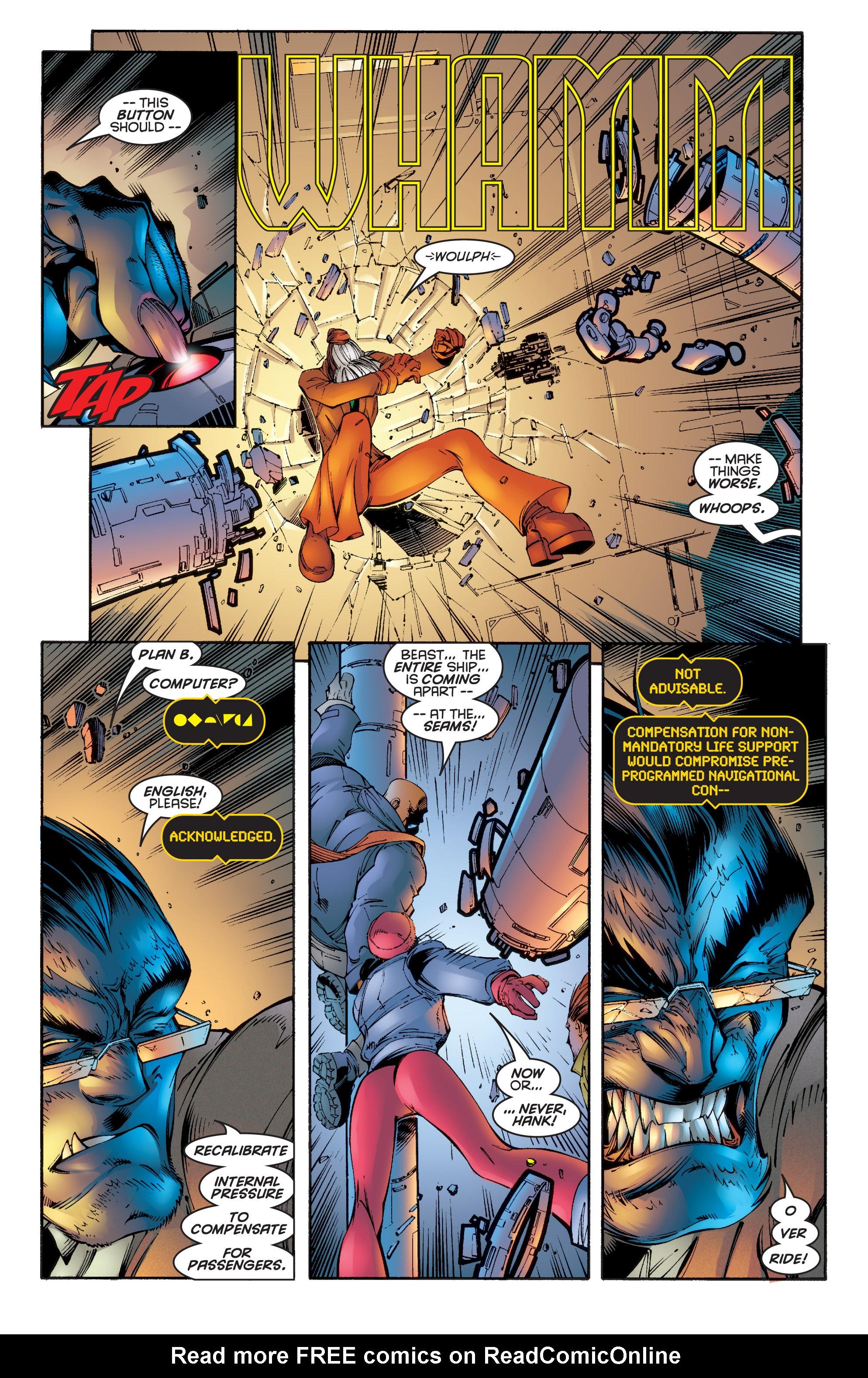 Read online Uncanny X-Men (1963) comic -  Issue #342 - 5