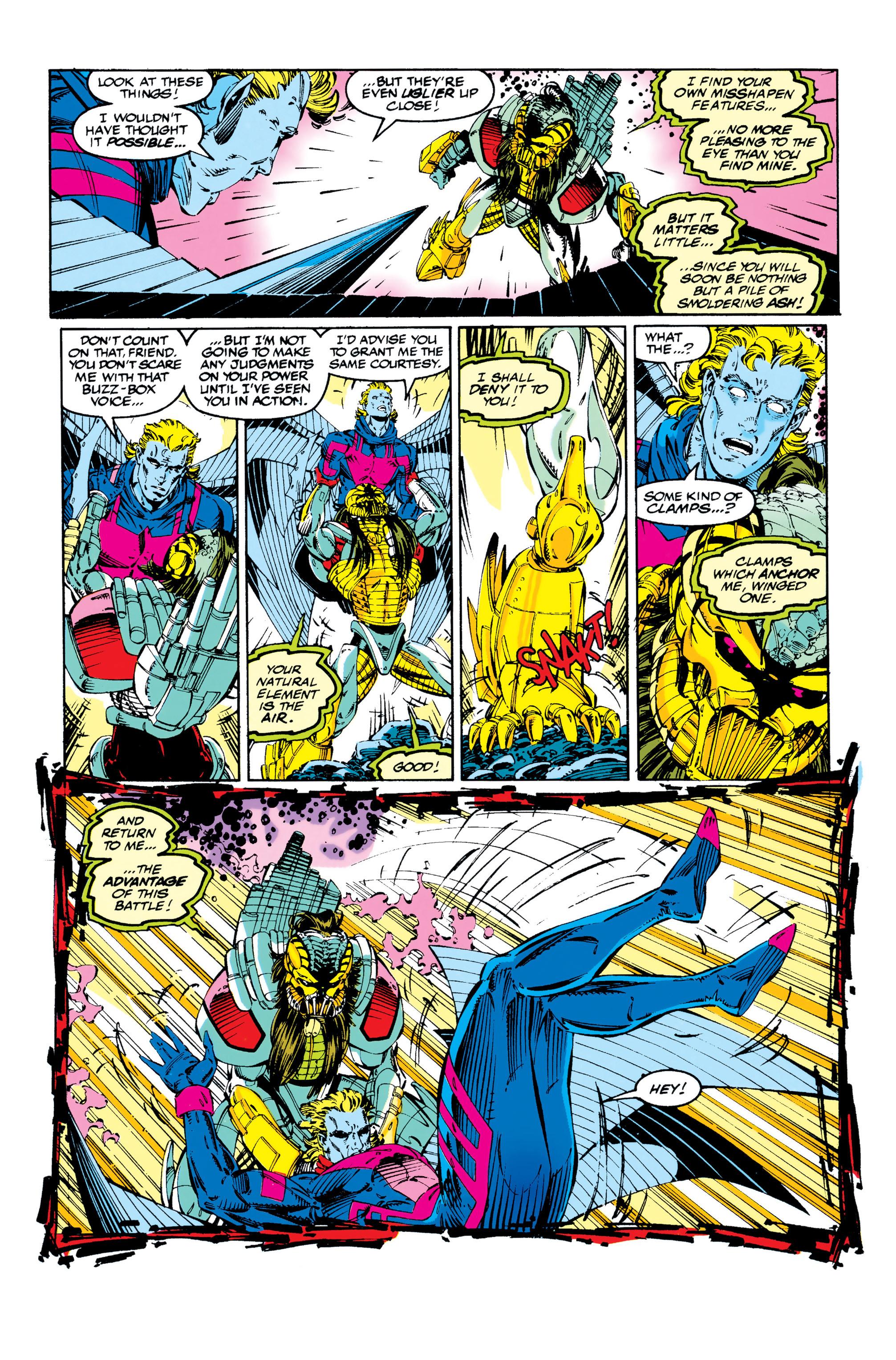 Read online Uncanny X-Men (1963) comic -  Issue #284 - 11